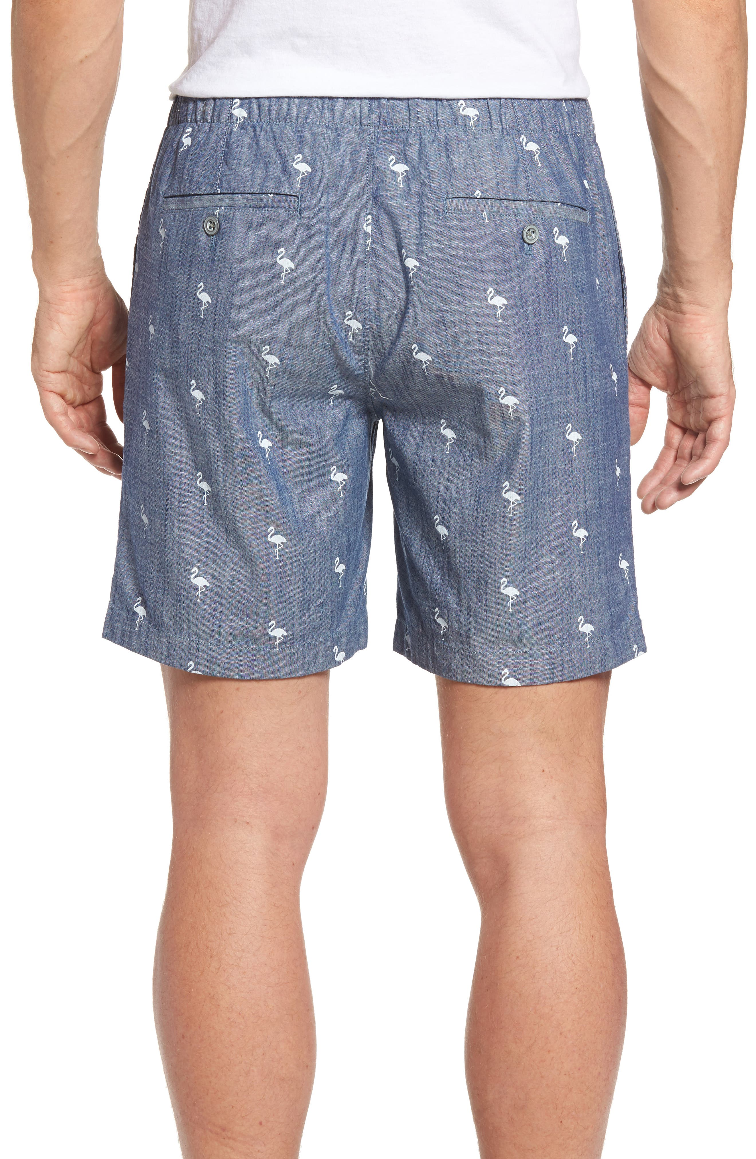 Alternate Image 2  - Bonobos 7-Inch Flamingo Shorts