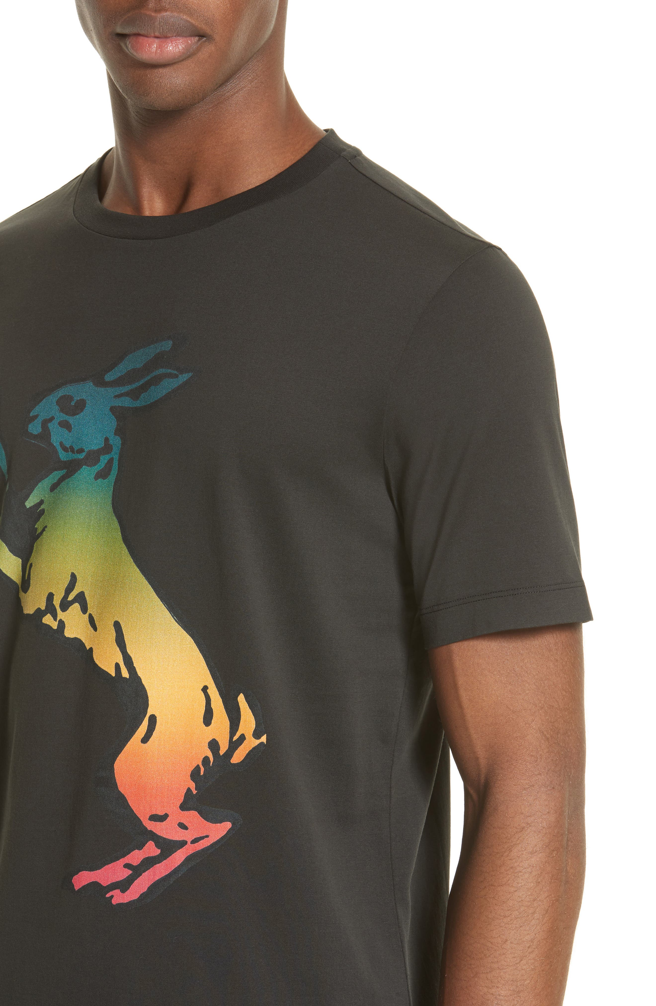 Alternate Image 4  - Paul Smith Rabbit Print T-Shirt