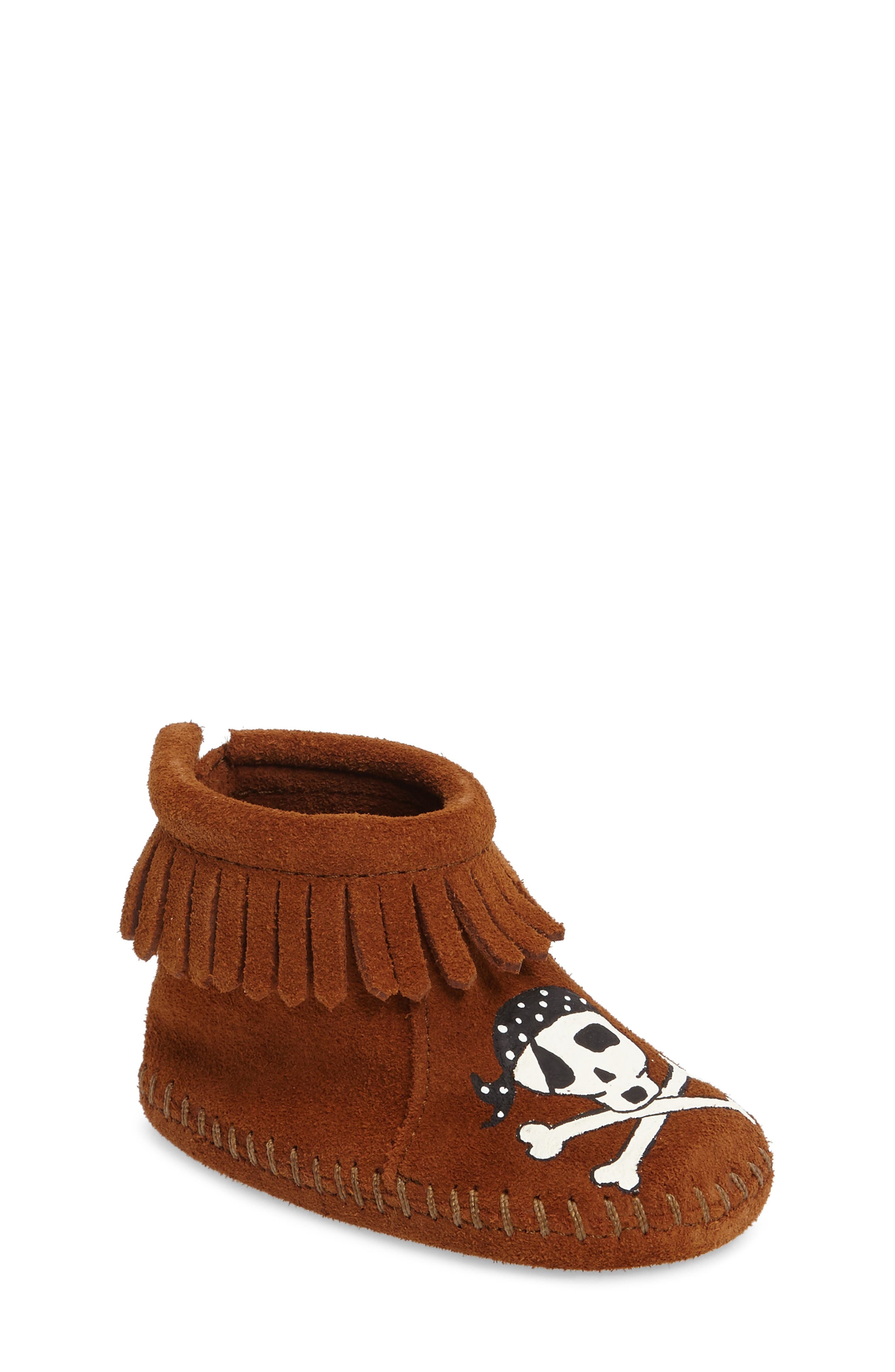 x Free Range Mama Sail into the Mystic Bootie,                         Main,                         color, Brown Suede