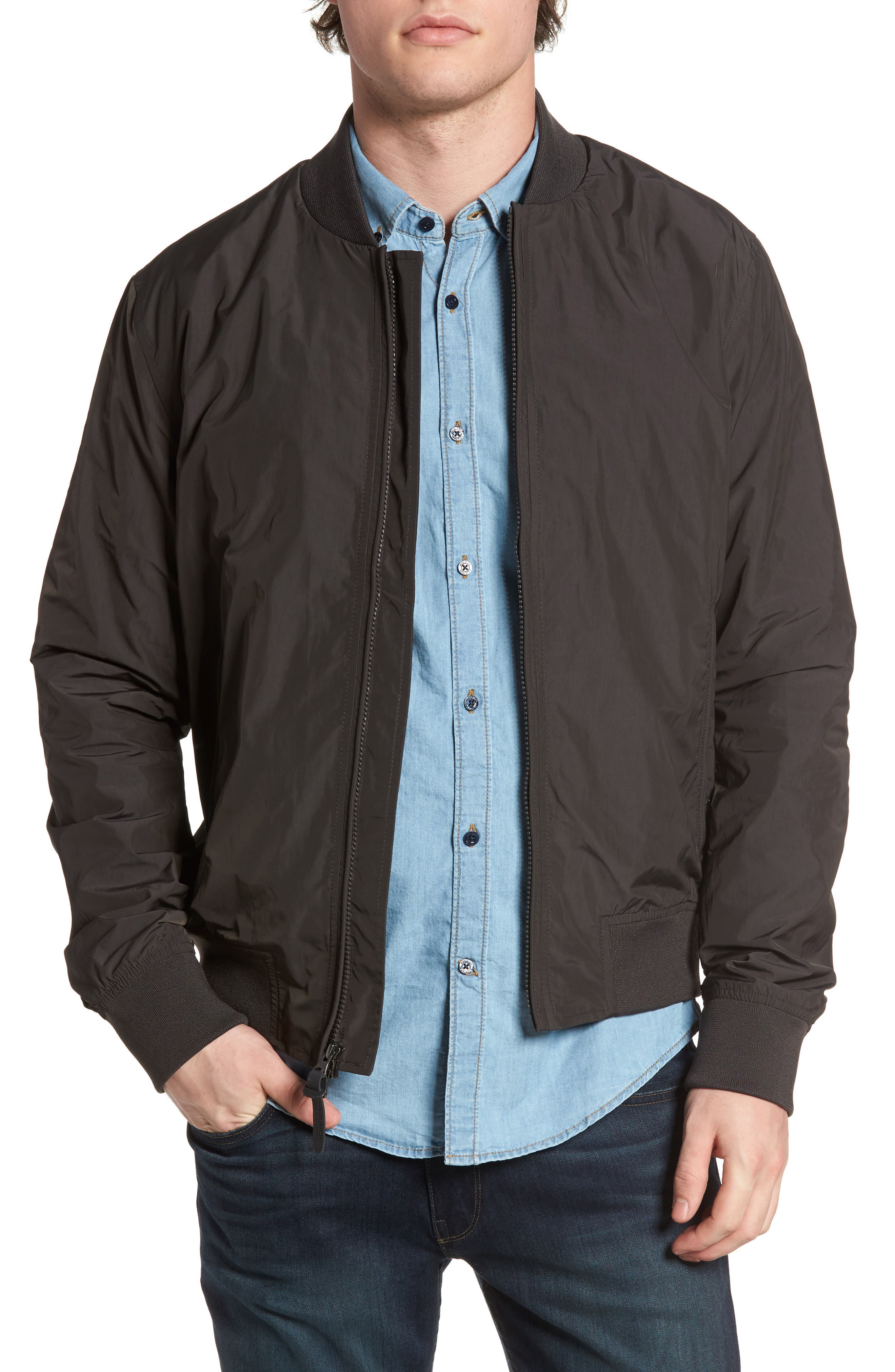 Alternate Image 1 Selected - Woolrich John Rich Shore Bomber Jacket