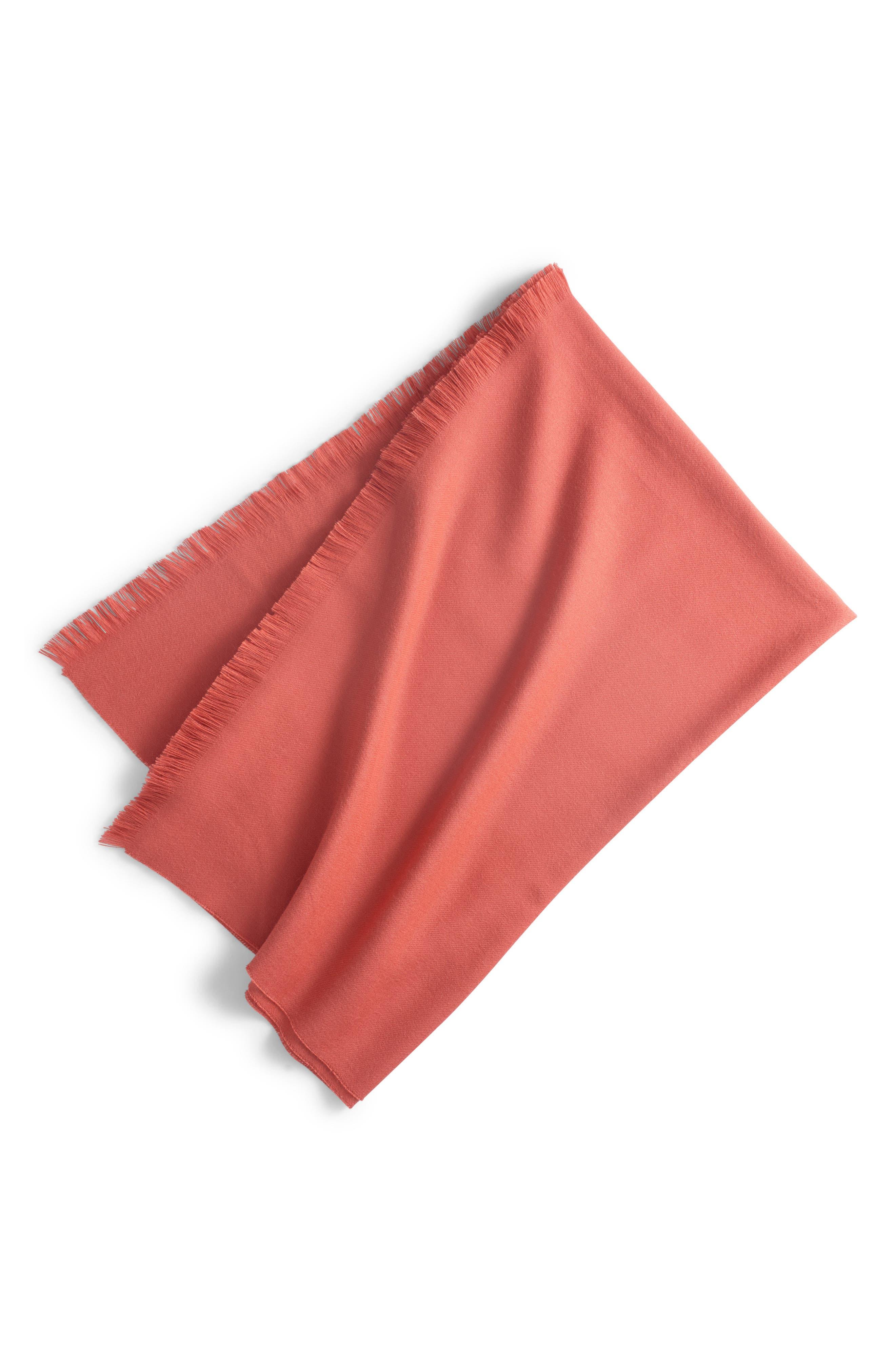 Orange Throw Blankets