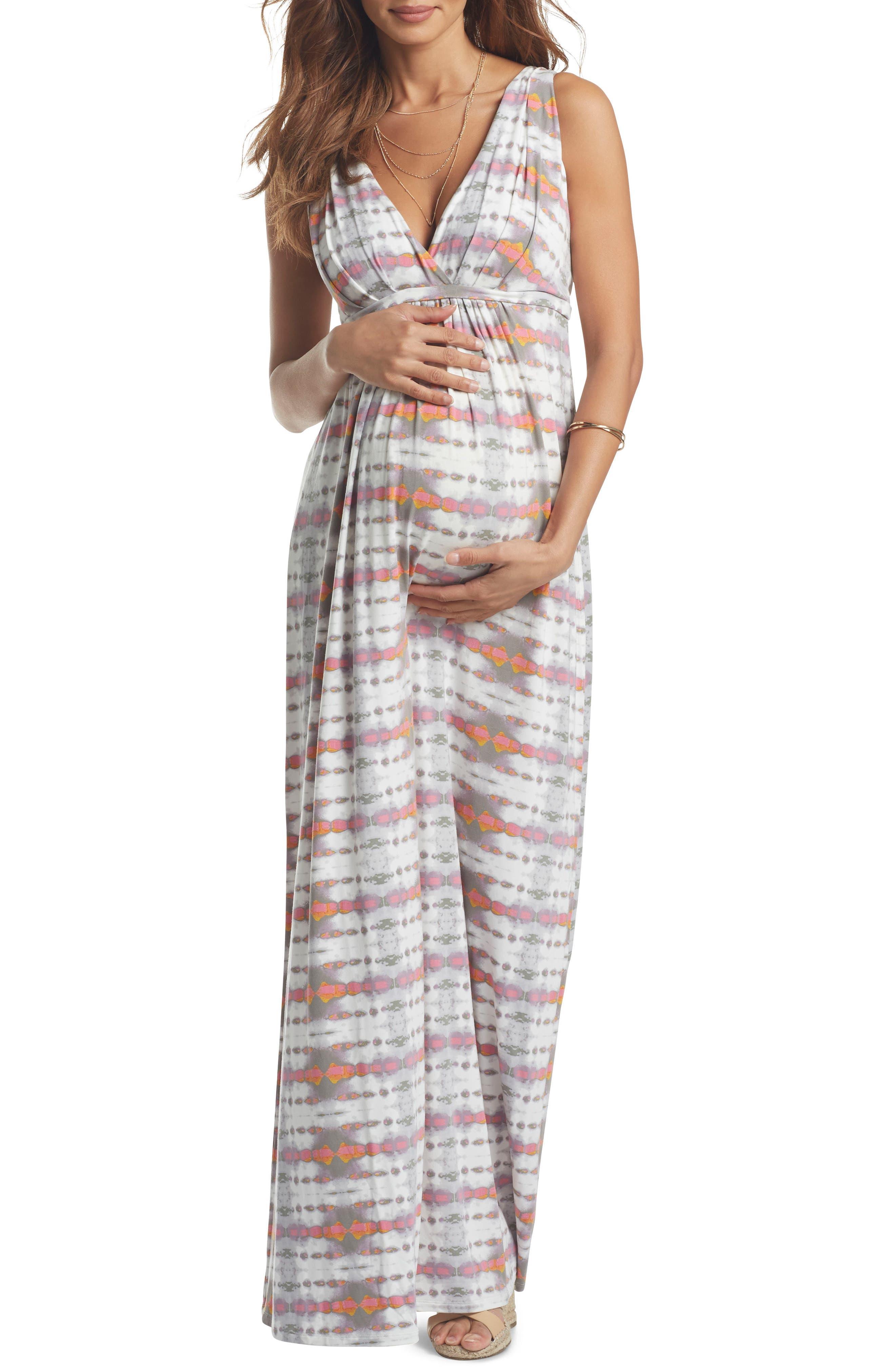 TART MATERNITY Chloe Maternity Maxi Dress