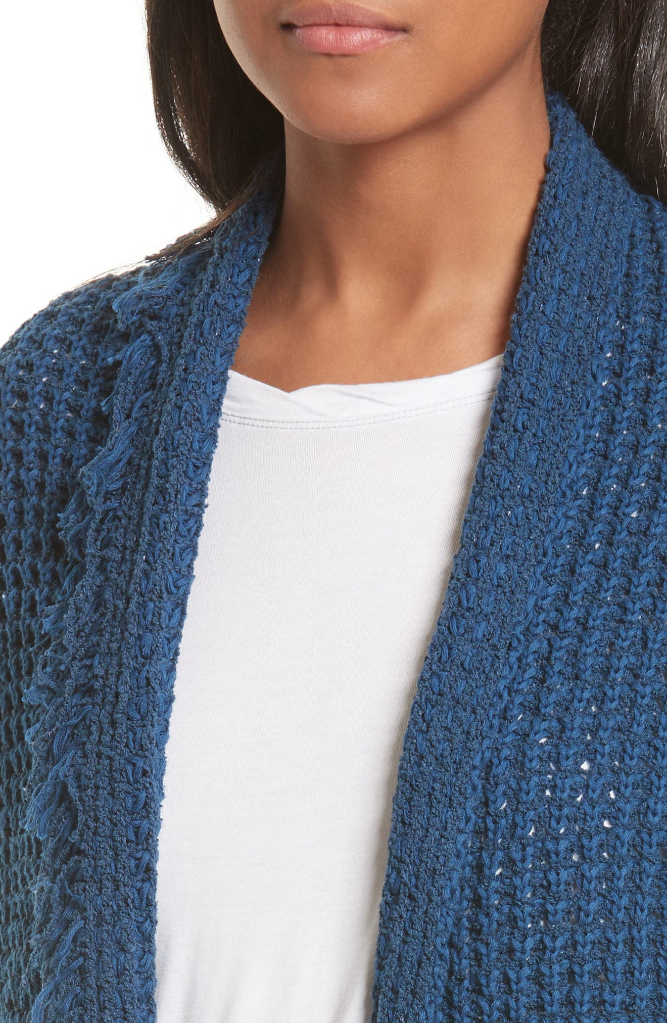 I'll Be Around Cardigan,                             Alternate thumbnail 4, color,                             Sapphire