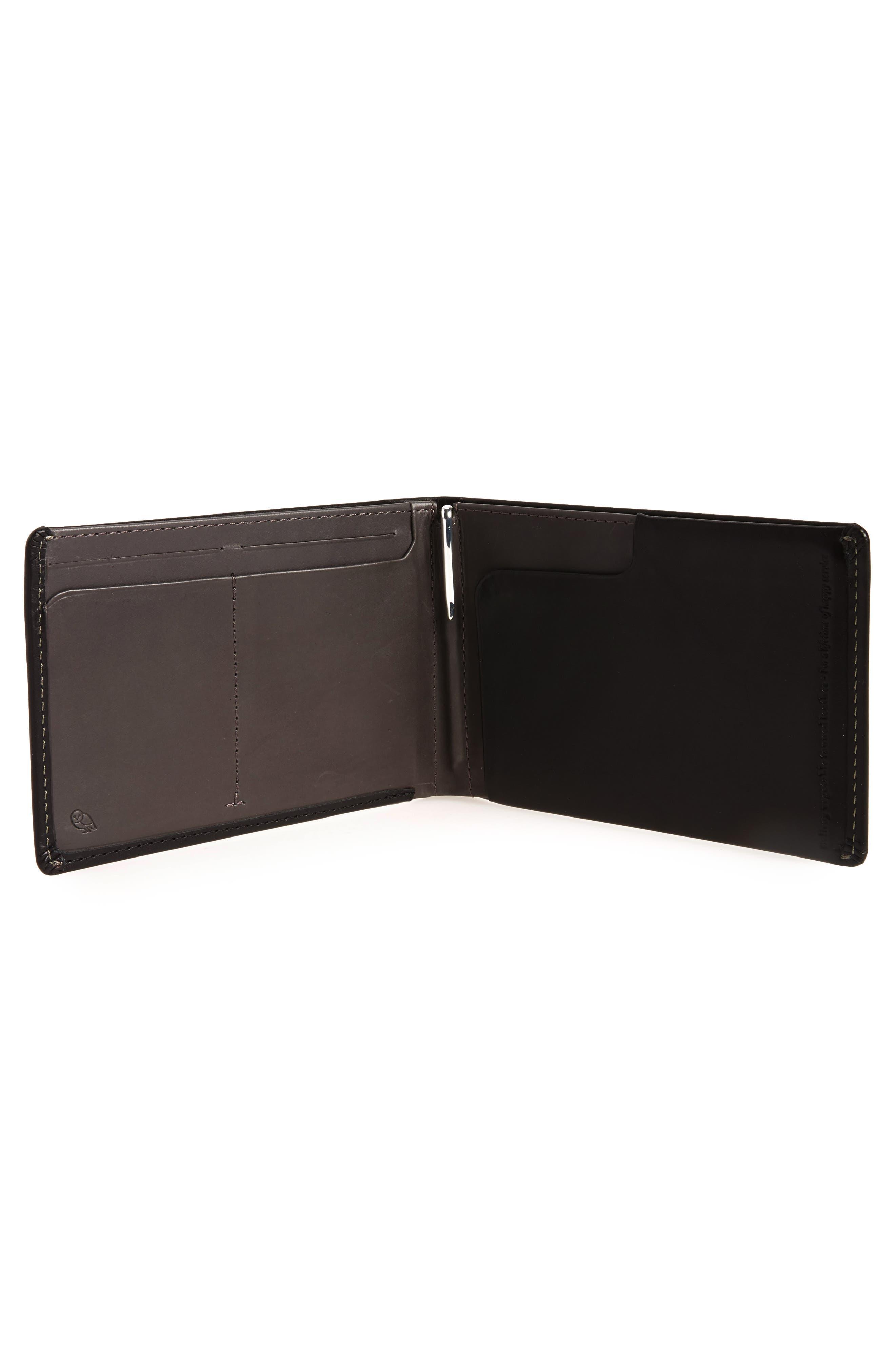 RFID Travel Wallet,                             Alternate thumbnail 2, color,                             Black
