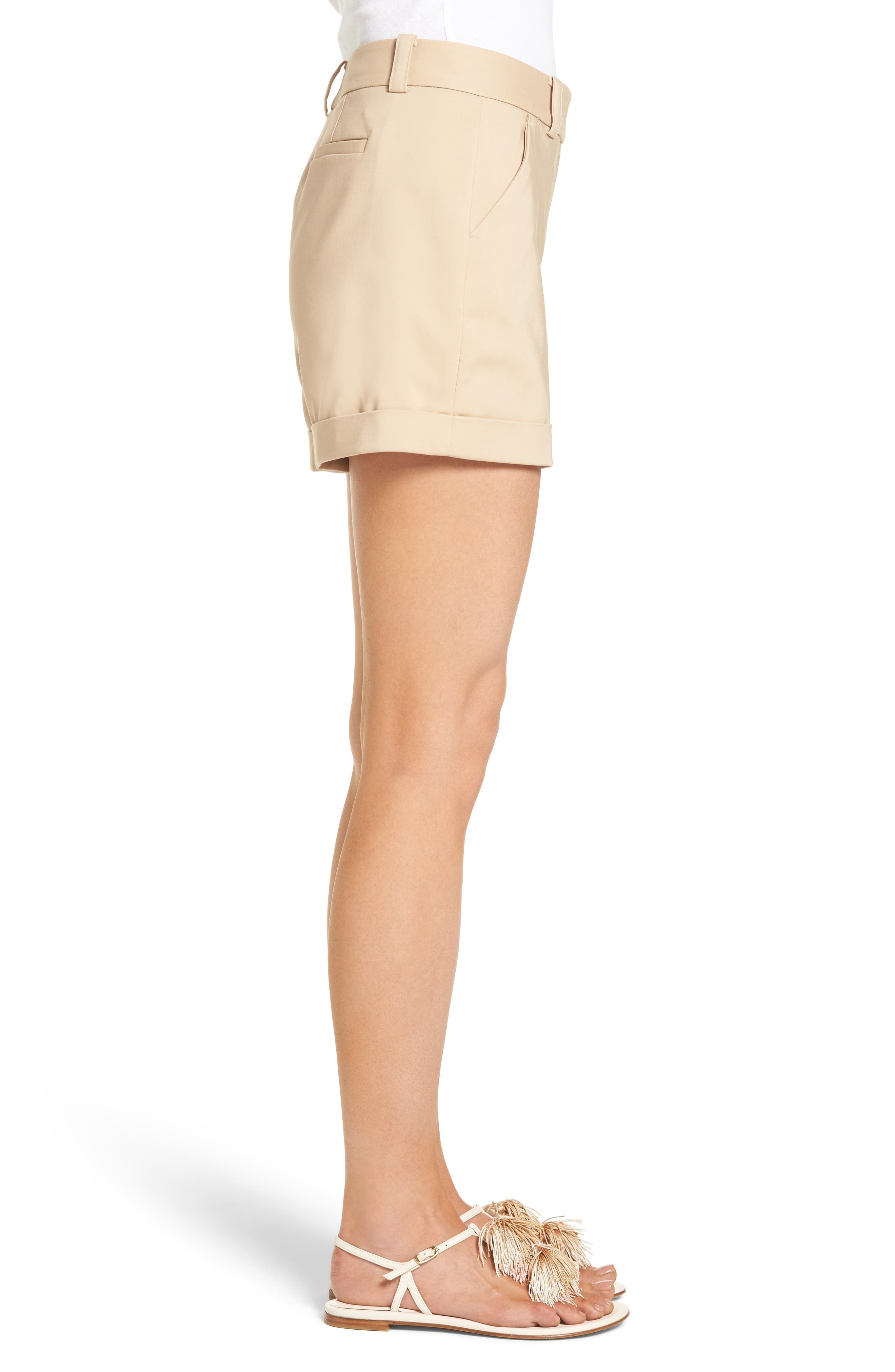 Alternate Image 3  - Vince Camuto Cuffed Shorts