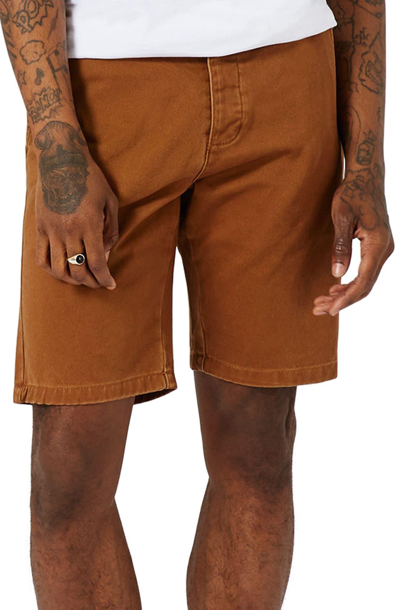 Topman Slim Fit Chino Shorts