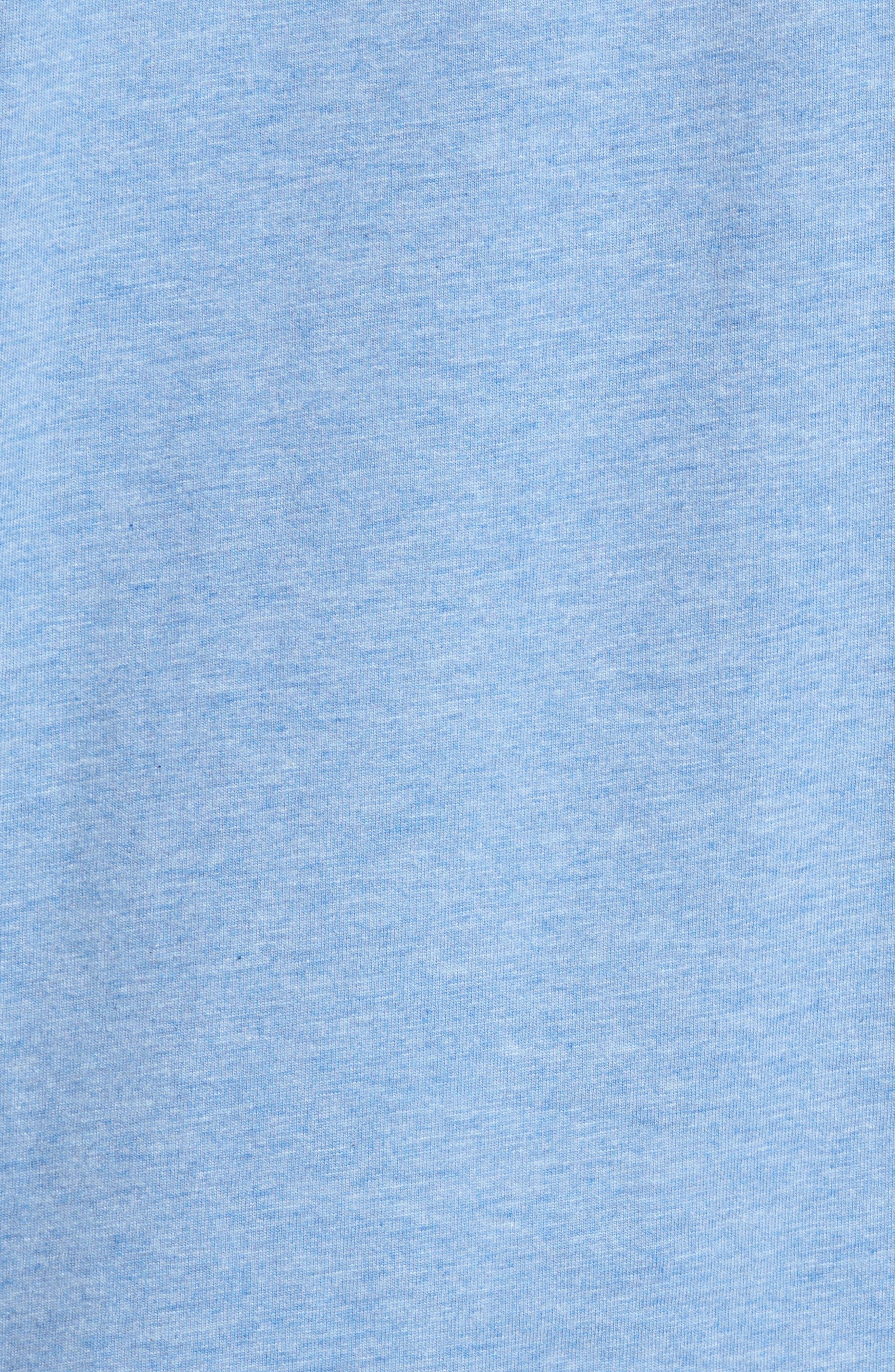 Alternate Image 5  - Psycho Bunny Classic V-Neck T-Shirt