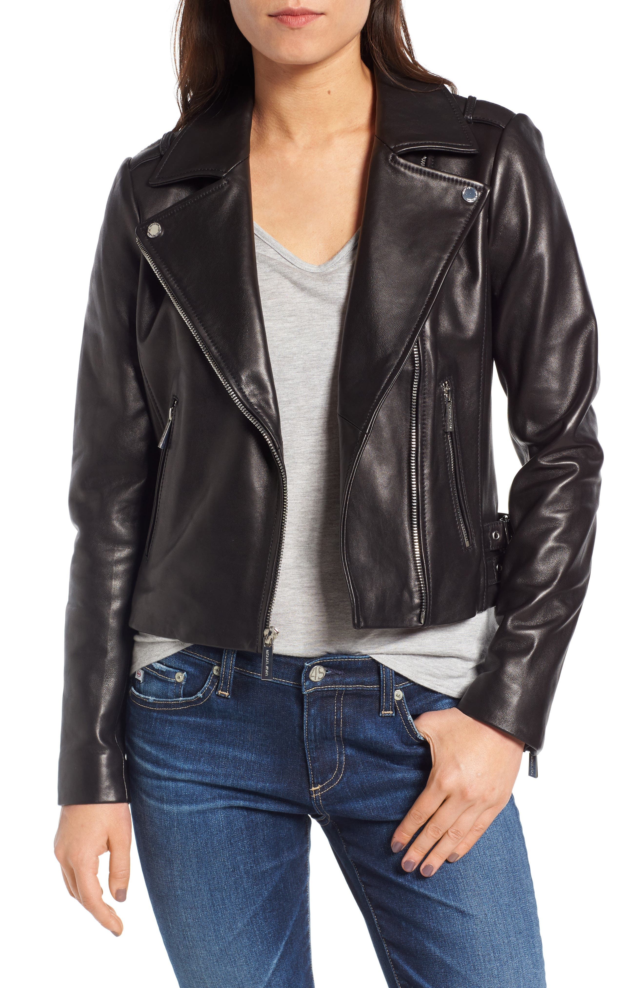 Michael kors leather jacket ireland
