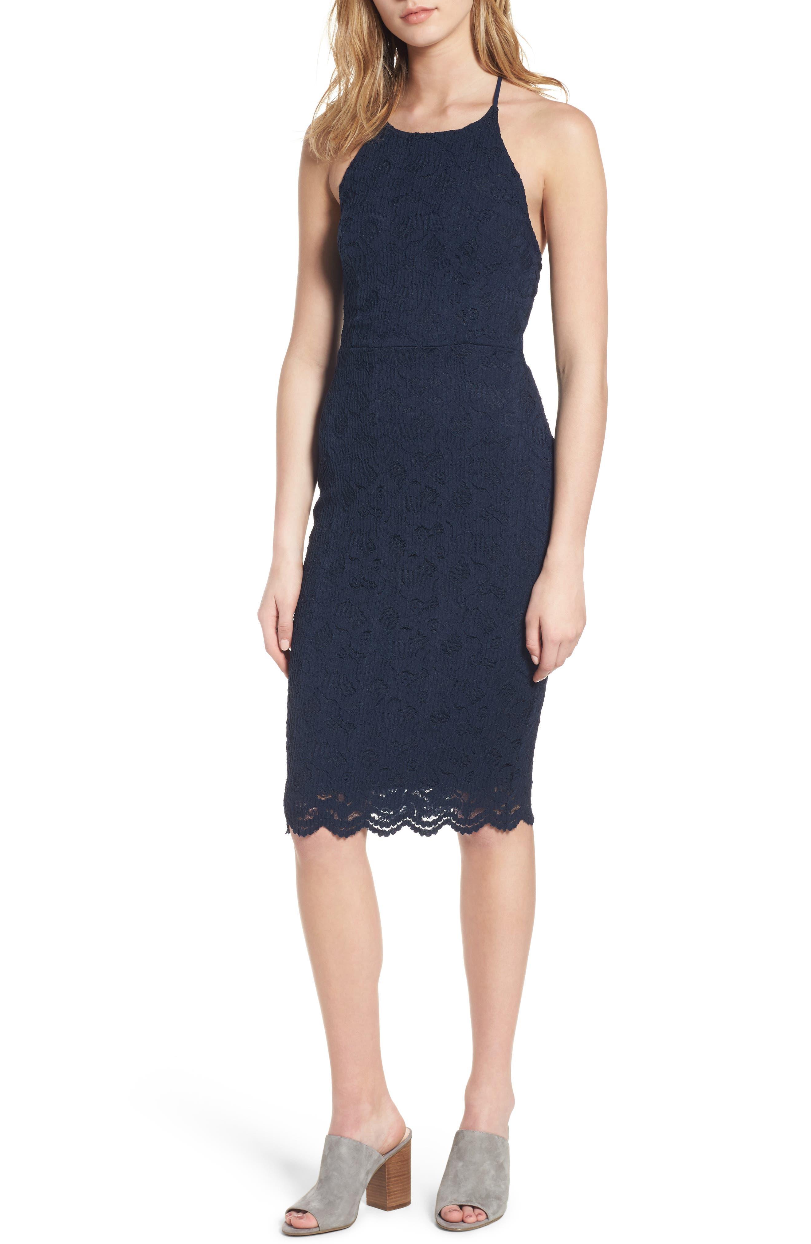 Soprano Lace Body-Con Dress