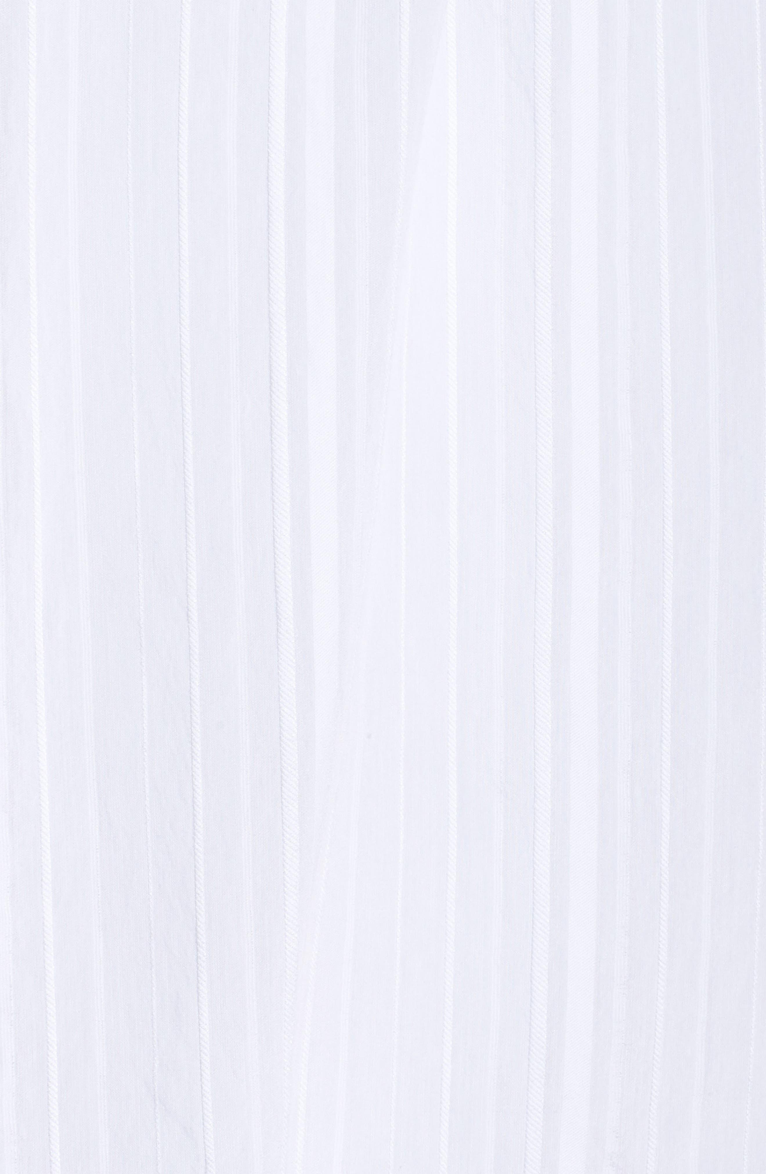 Cap Sleeve Top,                             Alternate thumbnail 5, color,                             White