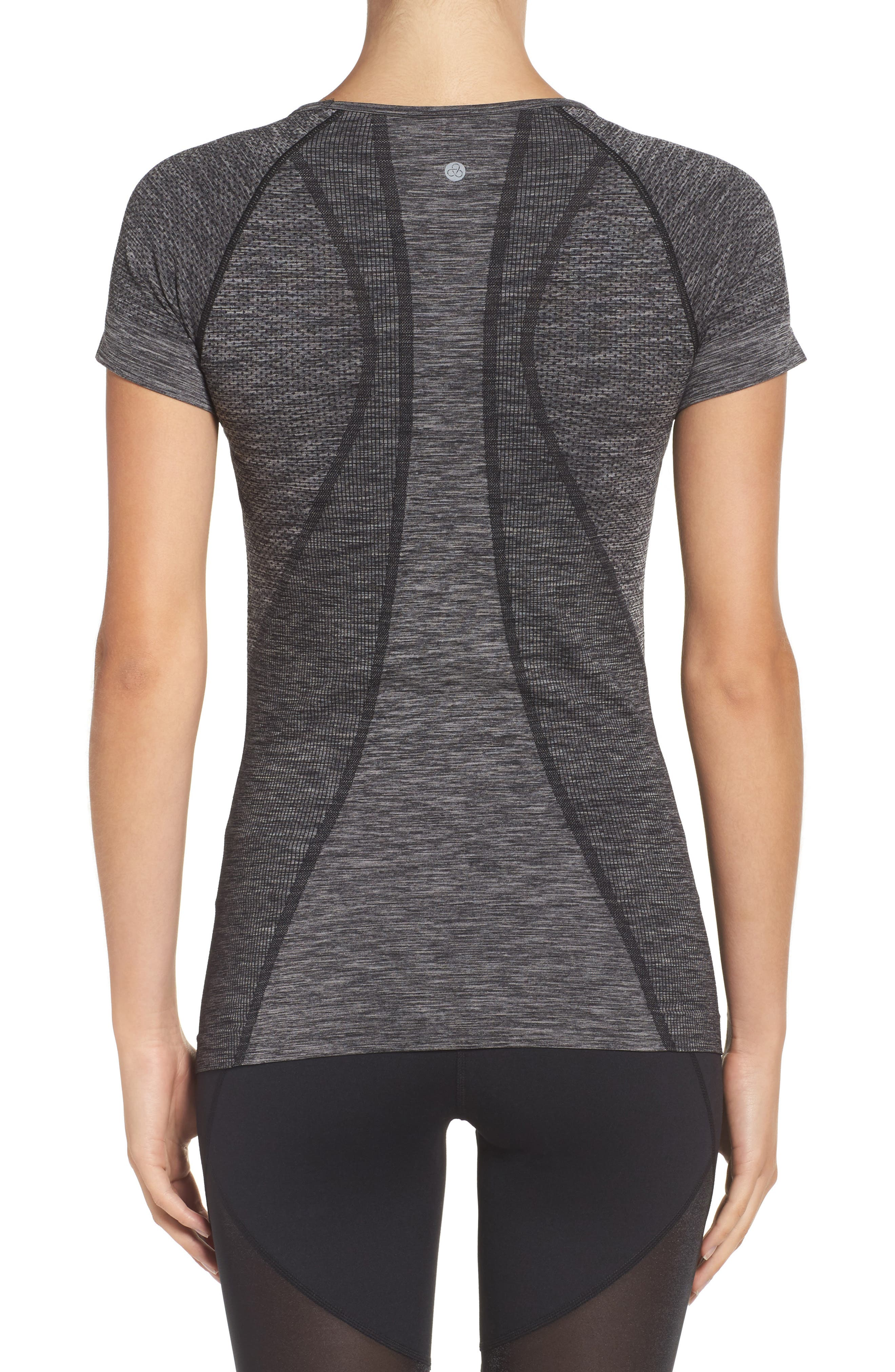 Alternate Image 2  - Zella Stand Out Seamless Training Tee