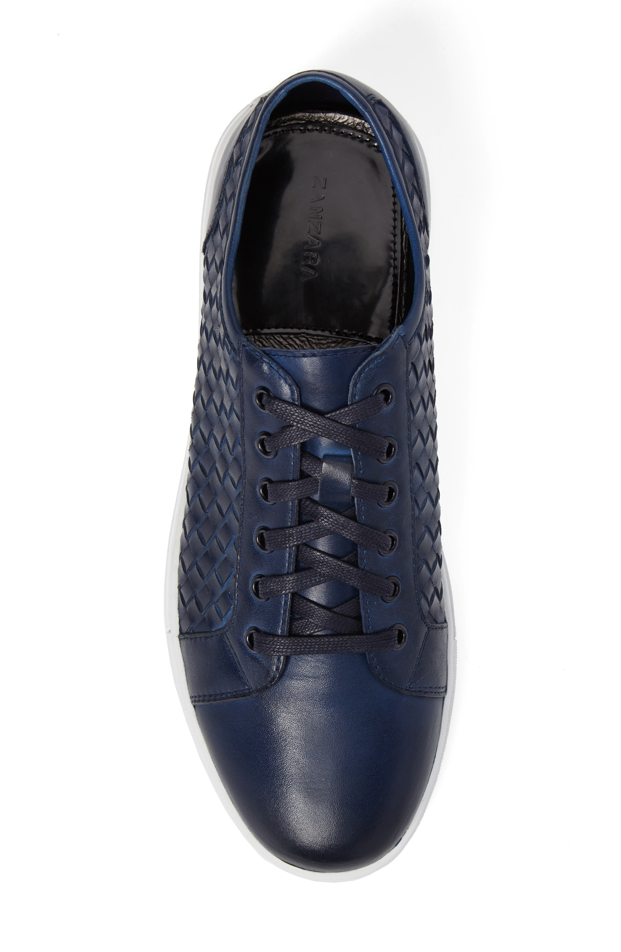 Fader Sneaker,                             Alternate thumbnail 5, color,                             Blue Leather