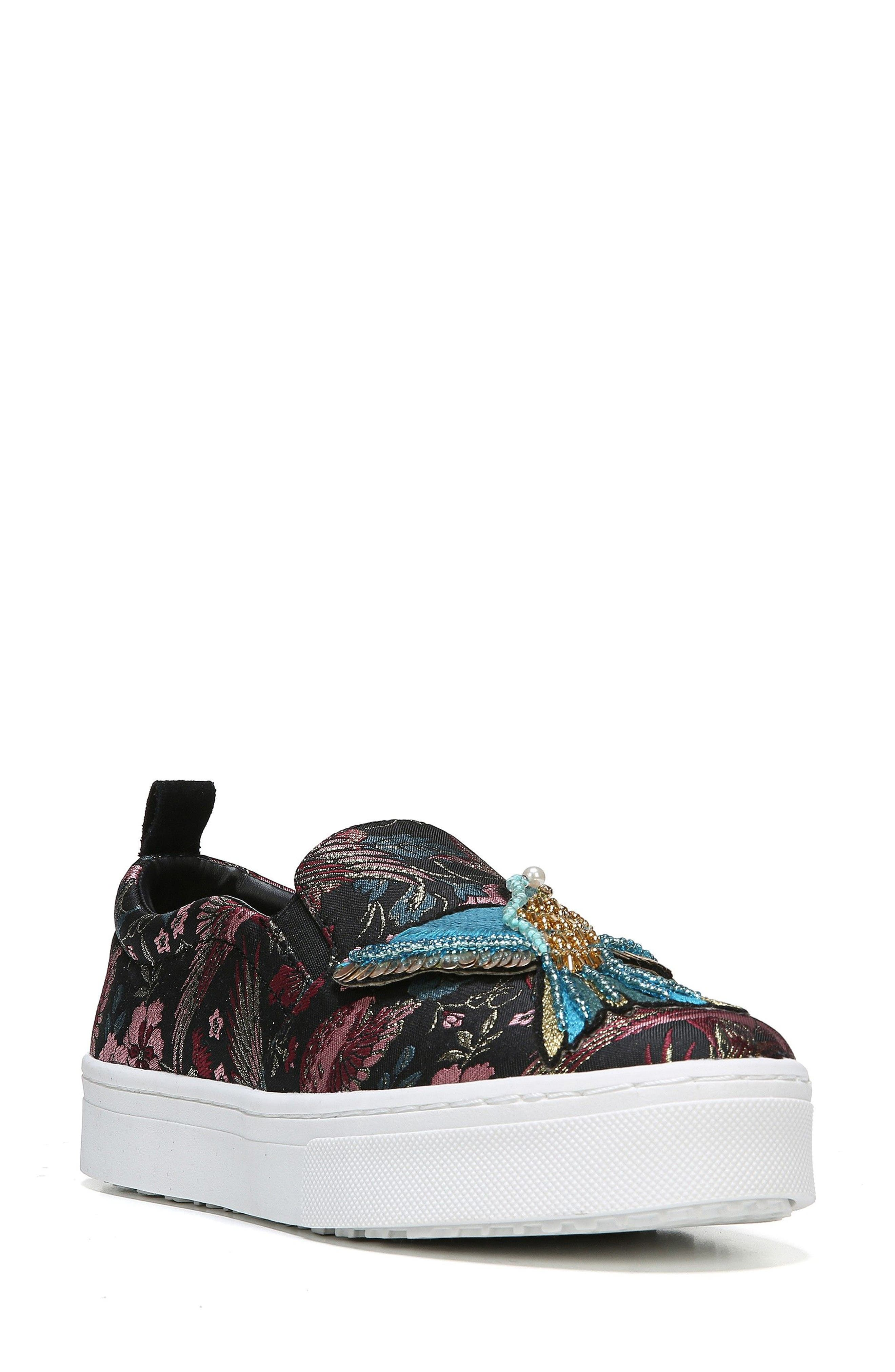 Sam Edelman Leila Bird Embellished Platform Sneaker (Women)