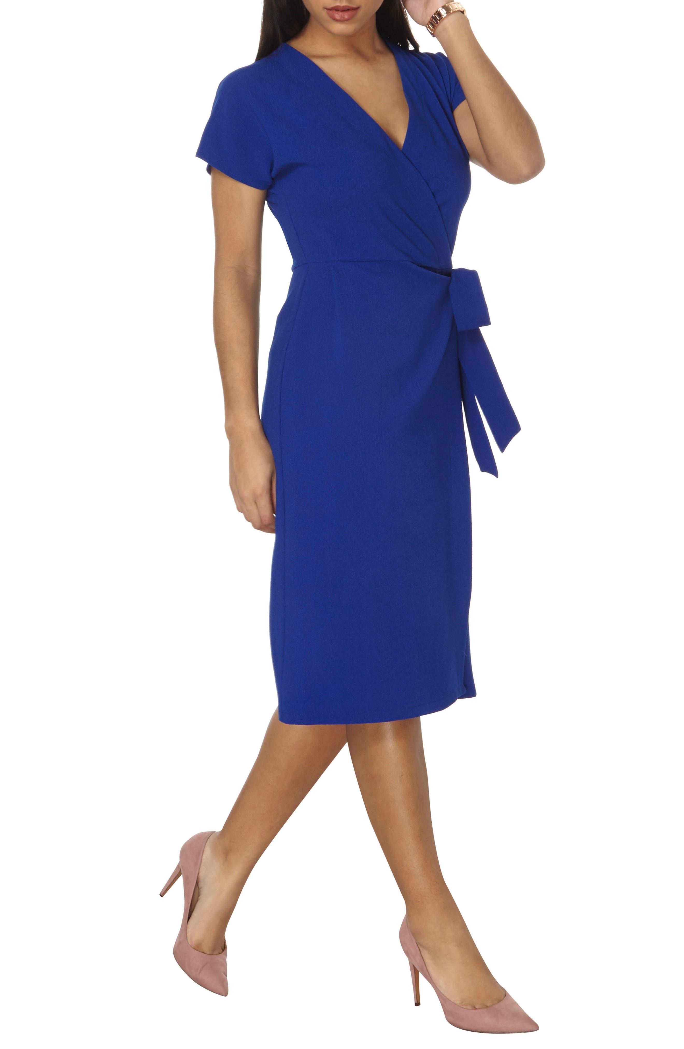 Alternate Image 3  - Dorothy Perkins Wrap Midi Dress