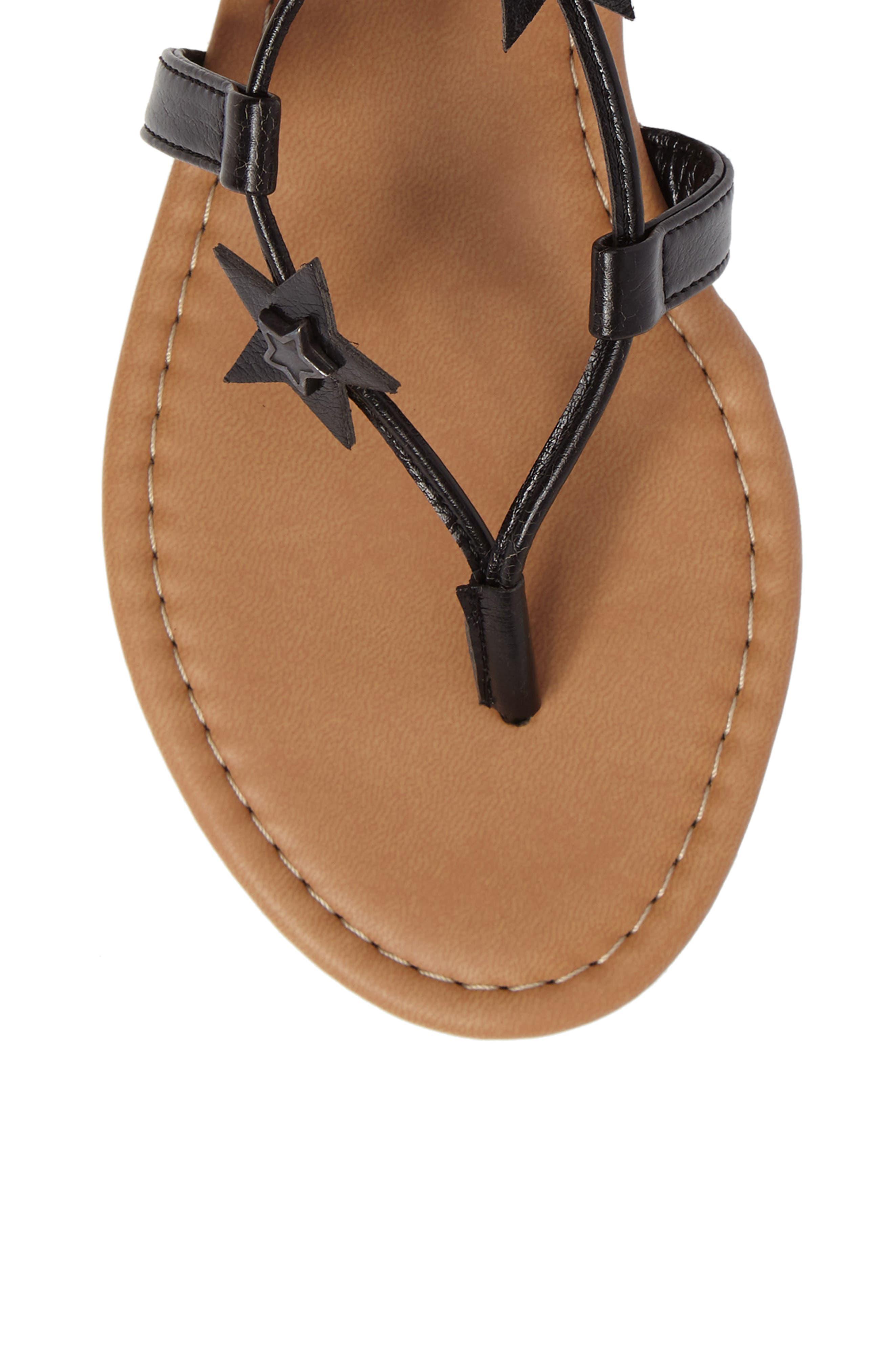 Alternate Image 5  - Steve Madden Jupiter Lace Up Sandal (Women)
