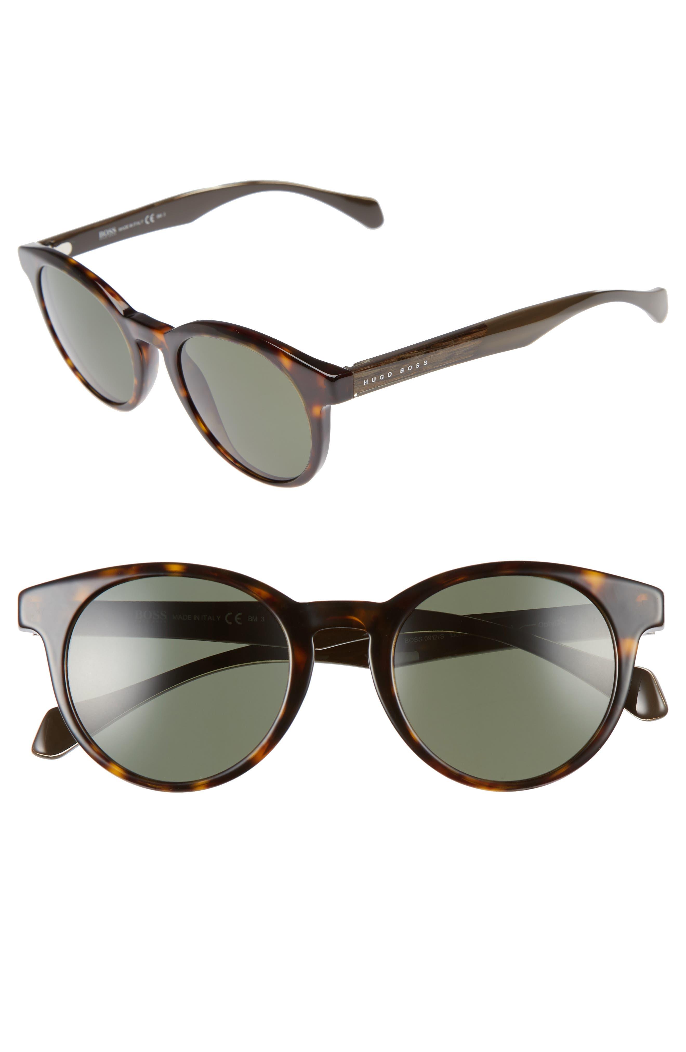 Alternate Image 1 Selected - BOSS 50mm Sunglasses