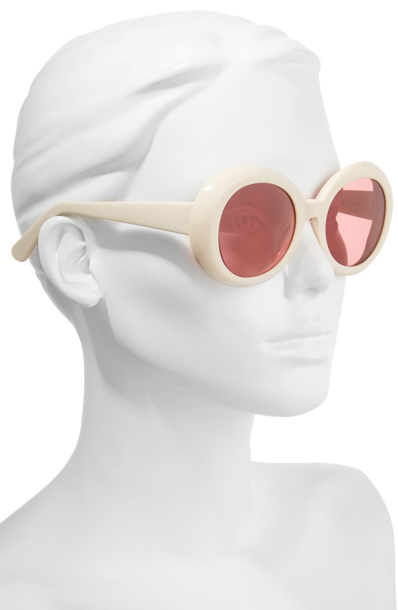 Alternate Image 2  - Gentle Monster Red Pocket 52mm Round Sunglasses