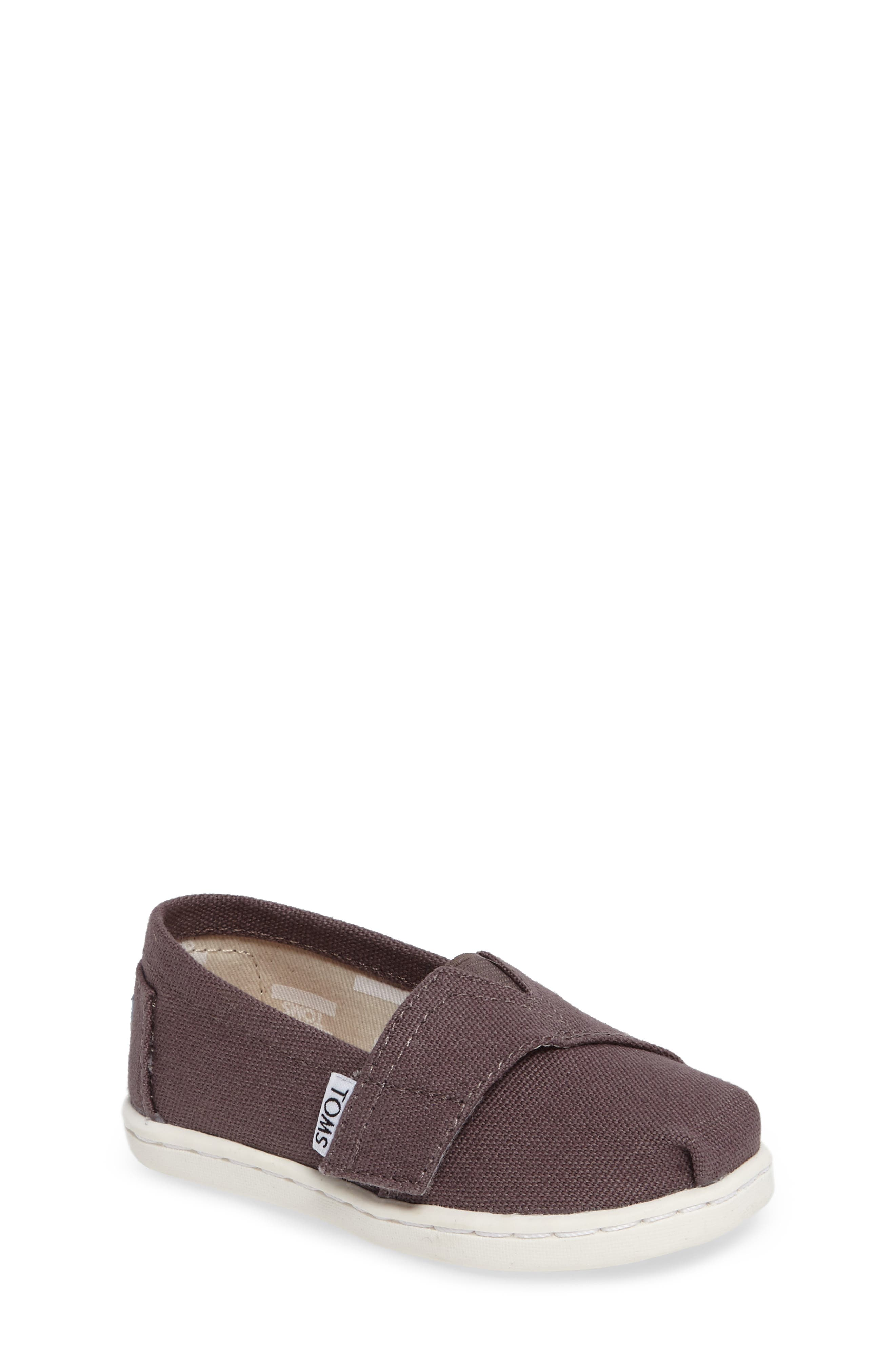 TOMS 2.0 Alpargata Slip-On (Baby, Walker & Toddler)
