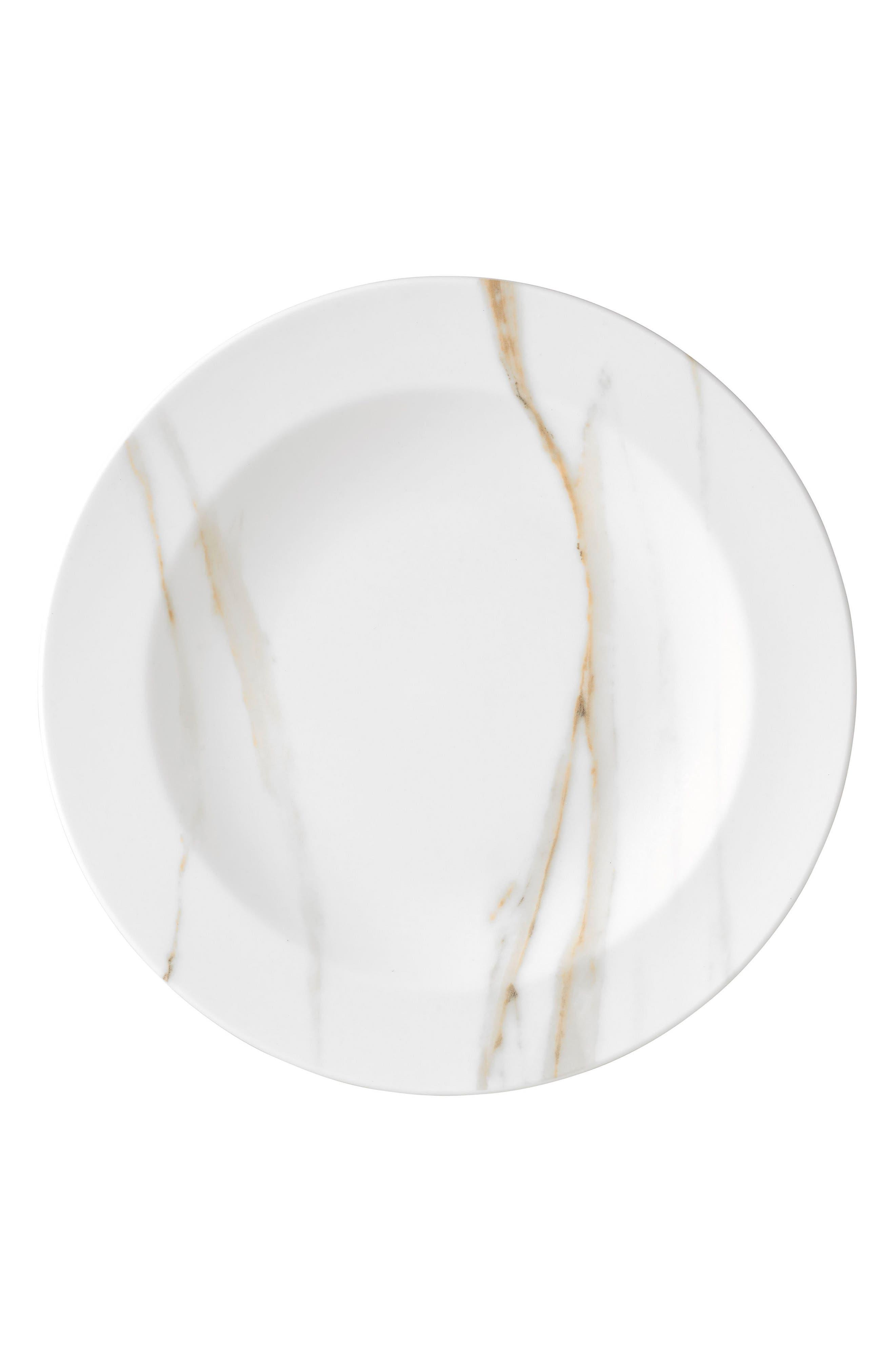 x Wedgwood Venato Imperial Rim Soup Bowl,                             Main thumbnail 1, color,                             White