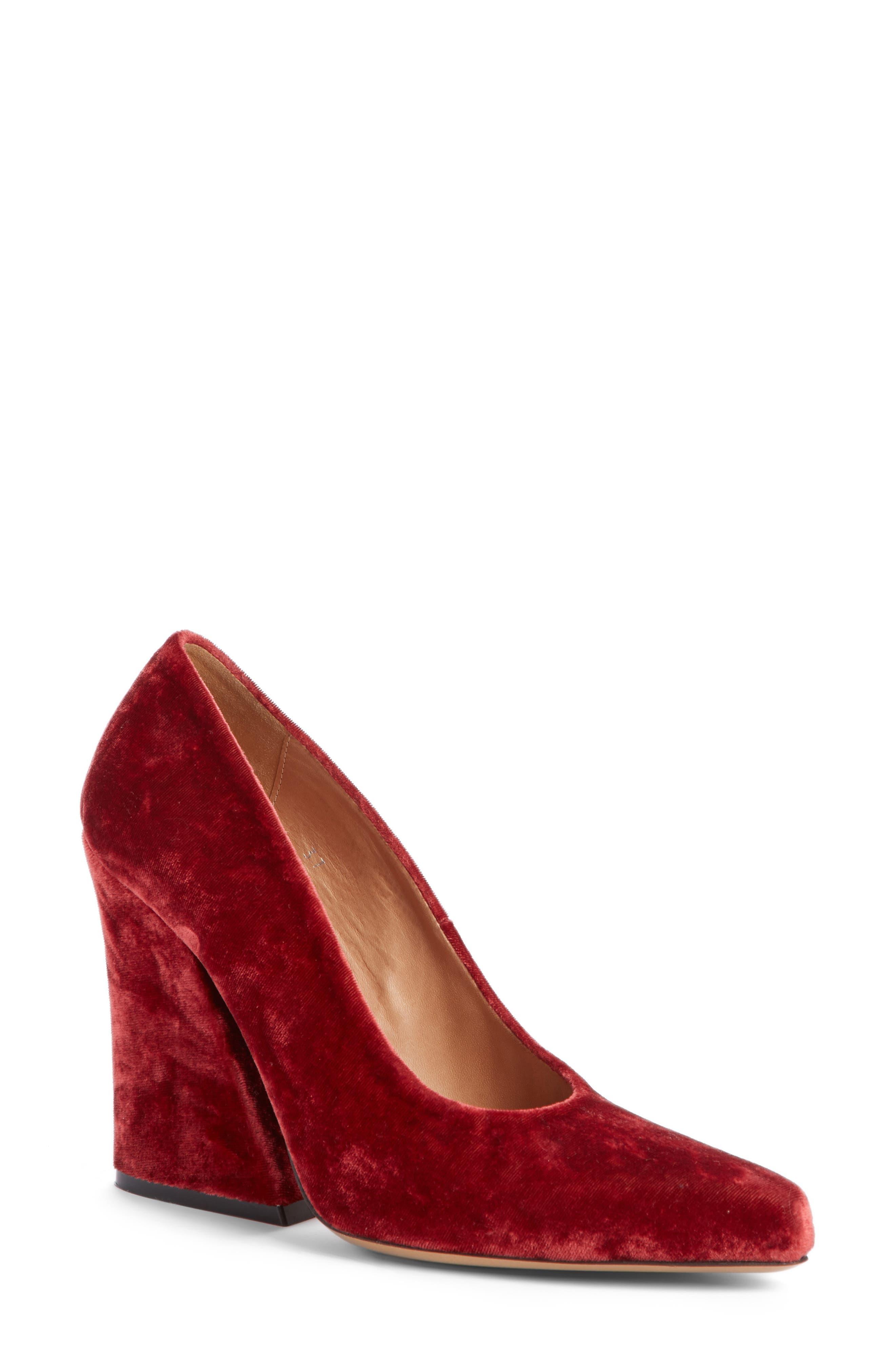 Alternate Image 1 Selected - Dries Van Noten Block Heel Pump (Women)