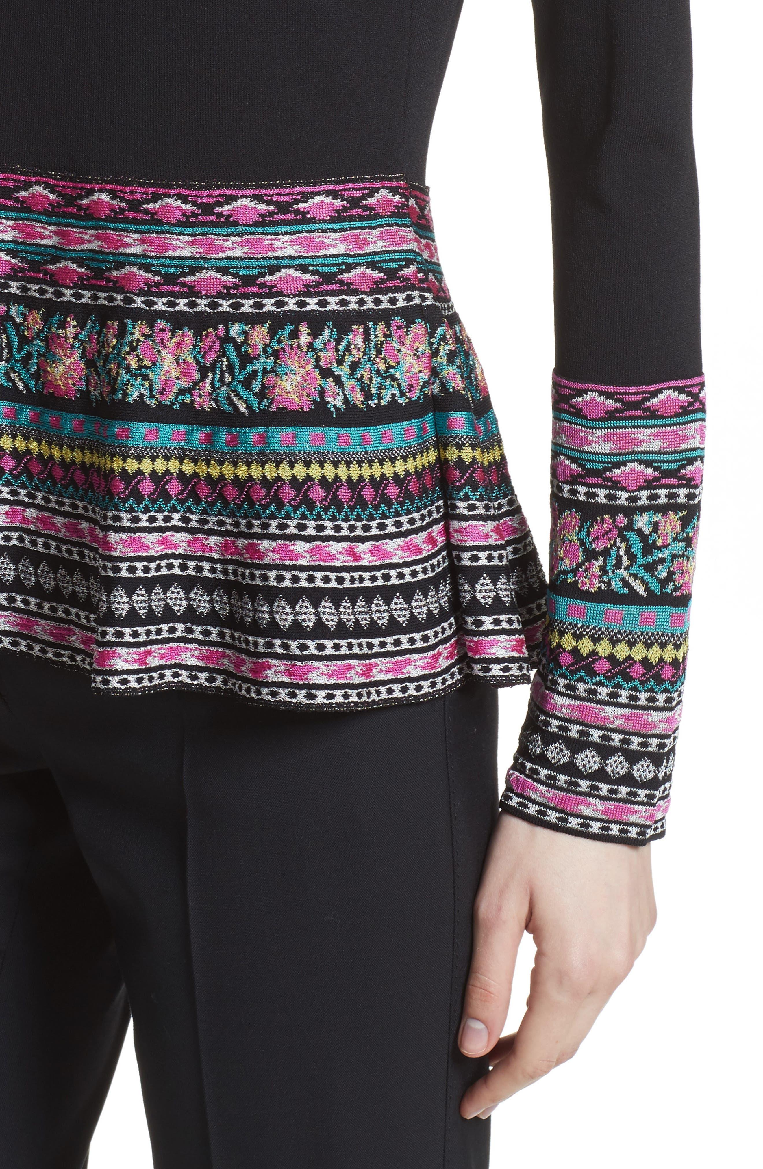 Alternate Image 5  - Etro Peplum Sweater