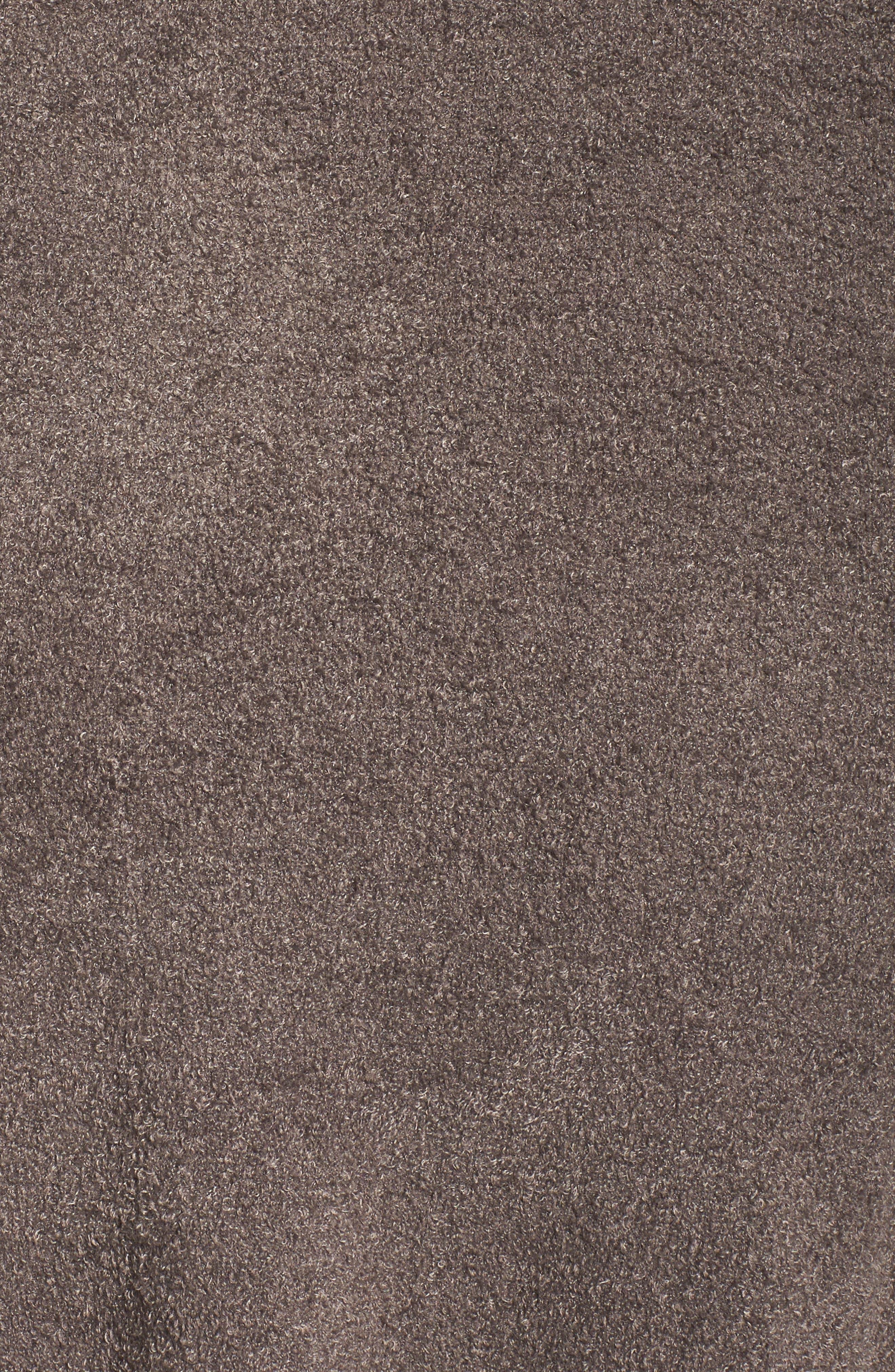 Alternate Image 6  - Barefoot Dreams® Cozychic Lite® Coastal Hooded Cardigan (Plus Size)