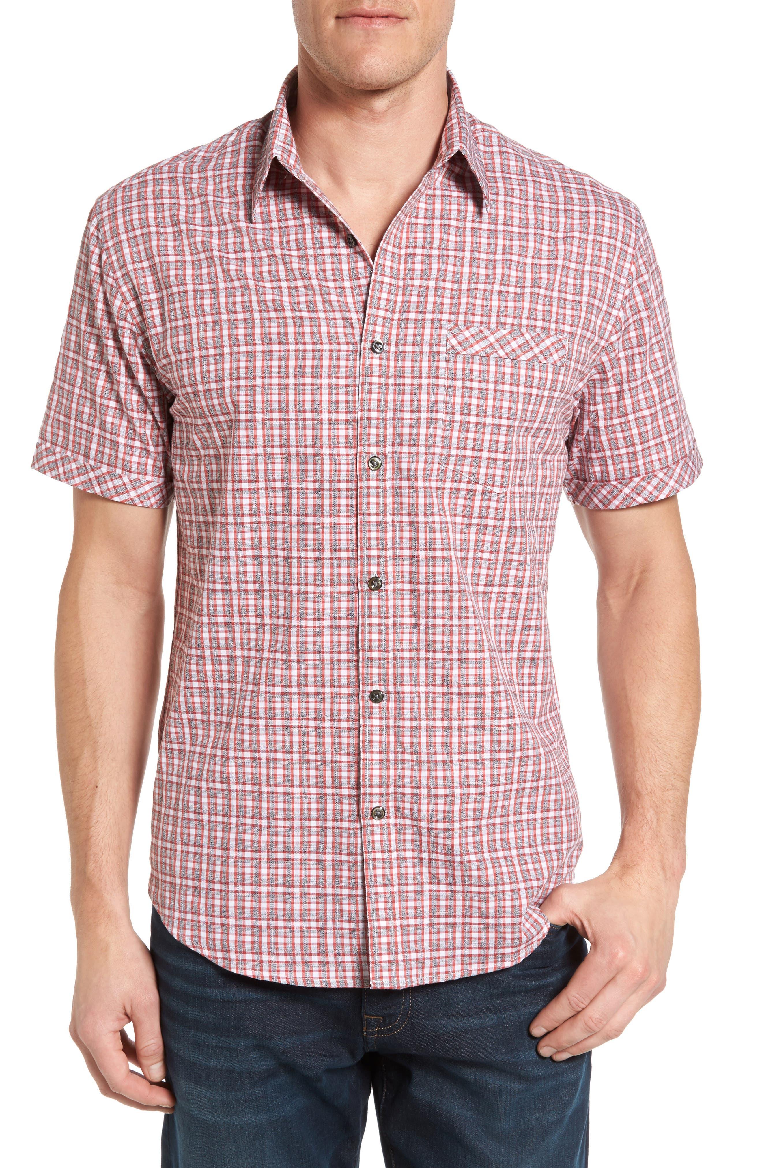James Campbell Marco Regular Fit Short Sleeve Sport Shirt