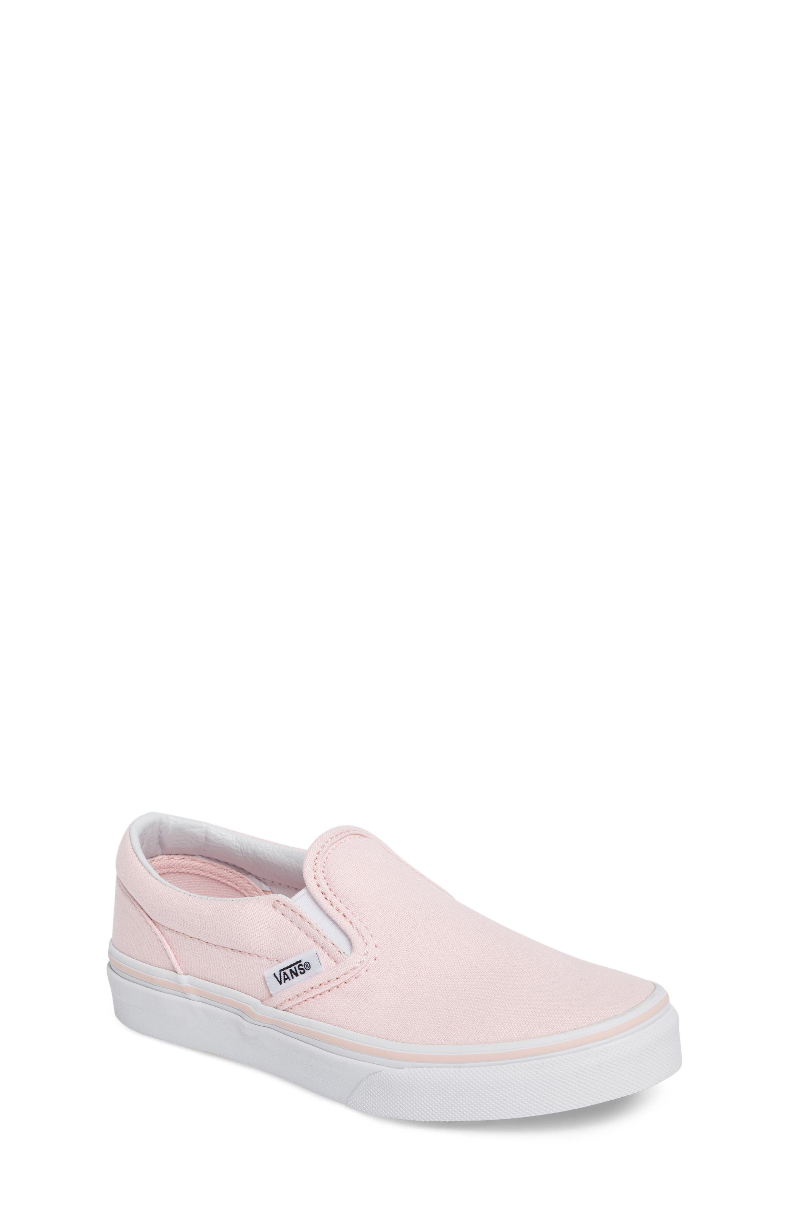 Classic Slip-On Sneaker,                         Main,                         color, Ballerina/ True White