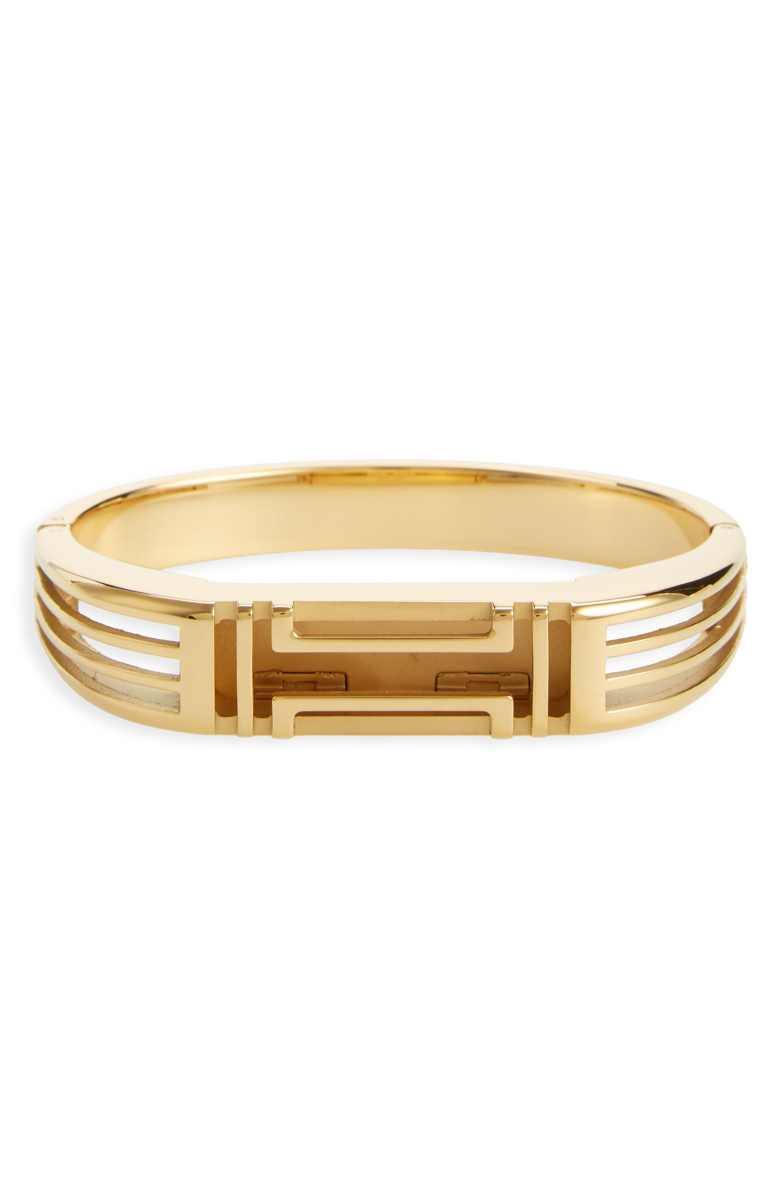 Main Image - Tory Burch for Fitbit® Hinge Bracelet