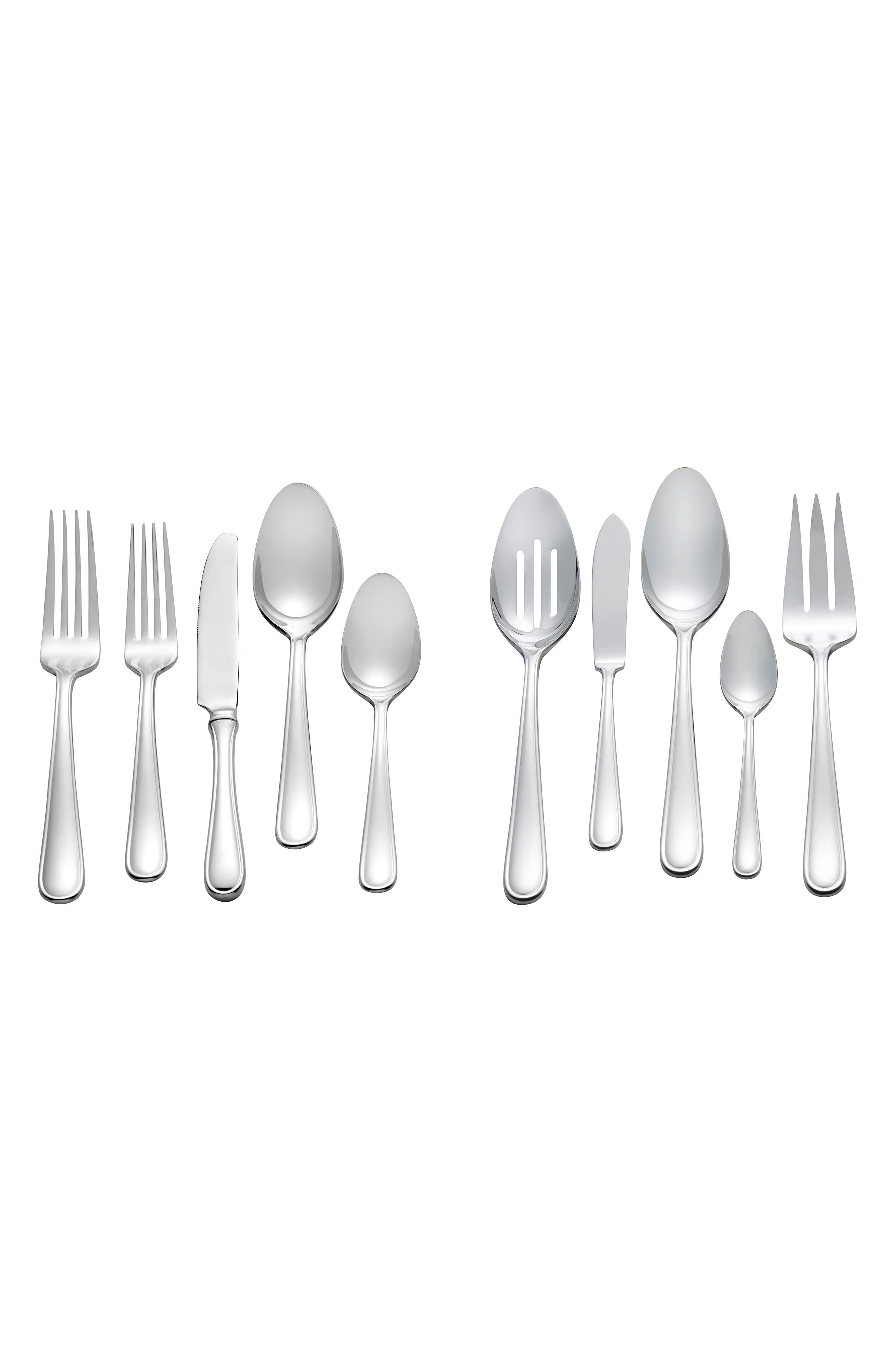 Vera Wang x Wedgwood Cushion 45-Piece Flatware Set