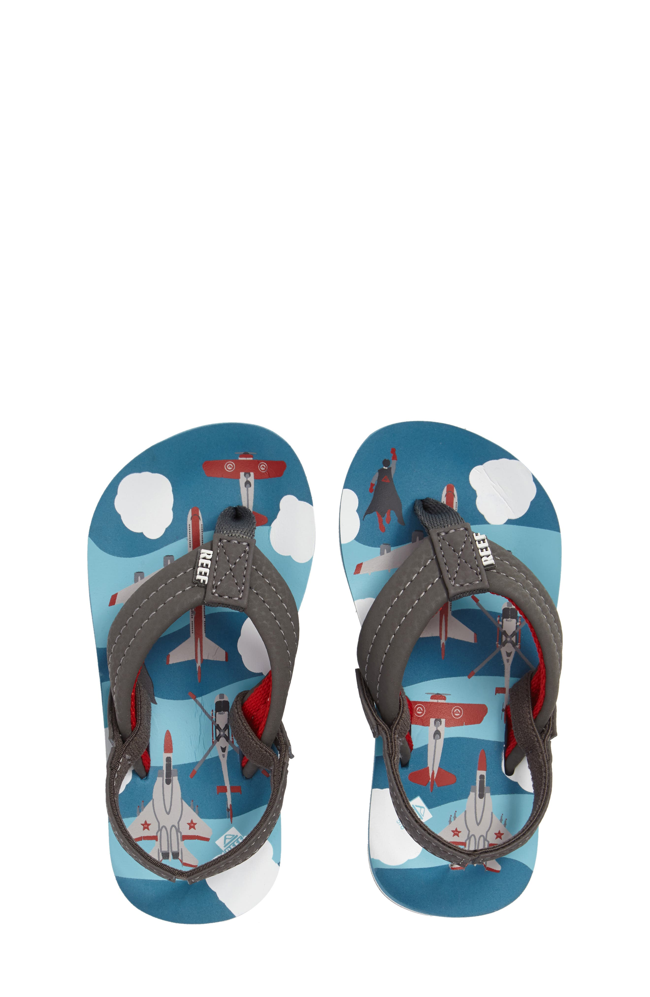 Reef 'Ahi' Flip Flop (Baby, Walker, Toddler, Little Kid & Big Kid)