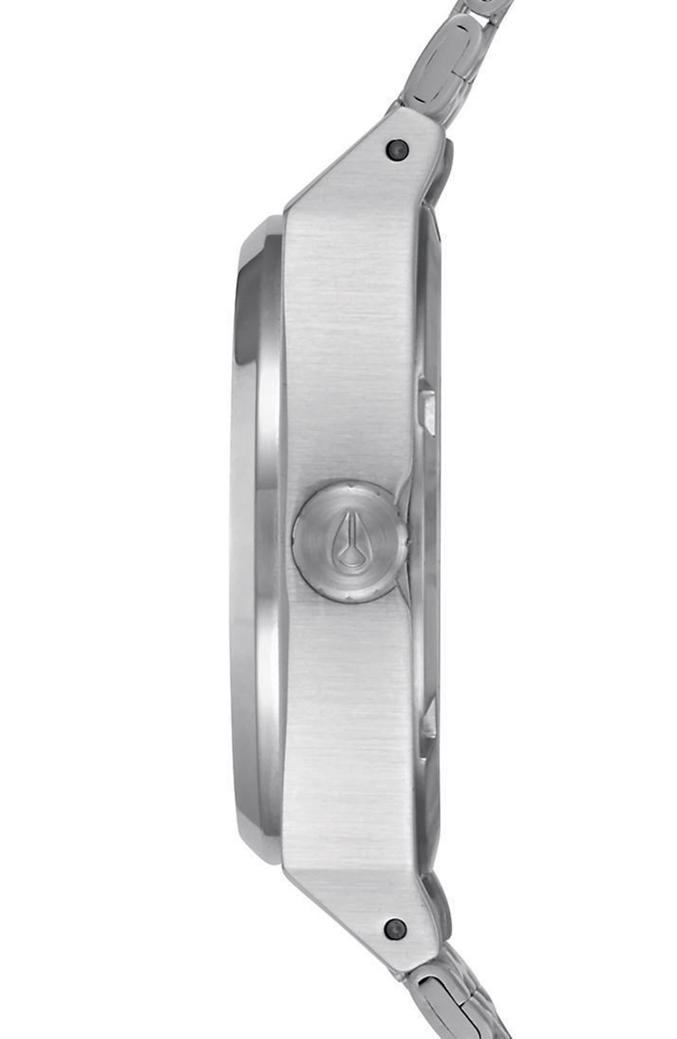 Time Teller Bracelet Watch, 31mm,                             Alternate thumbnail 3, color,                             Silver