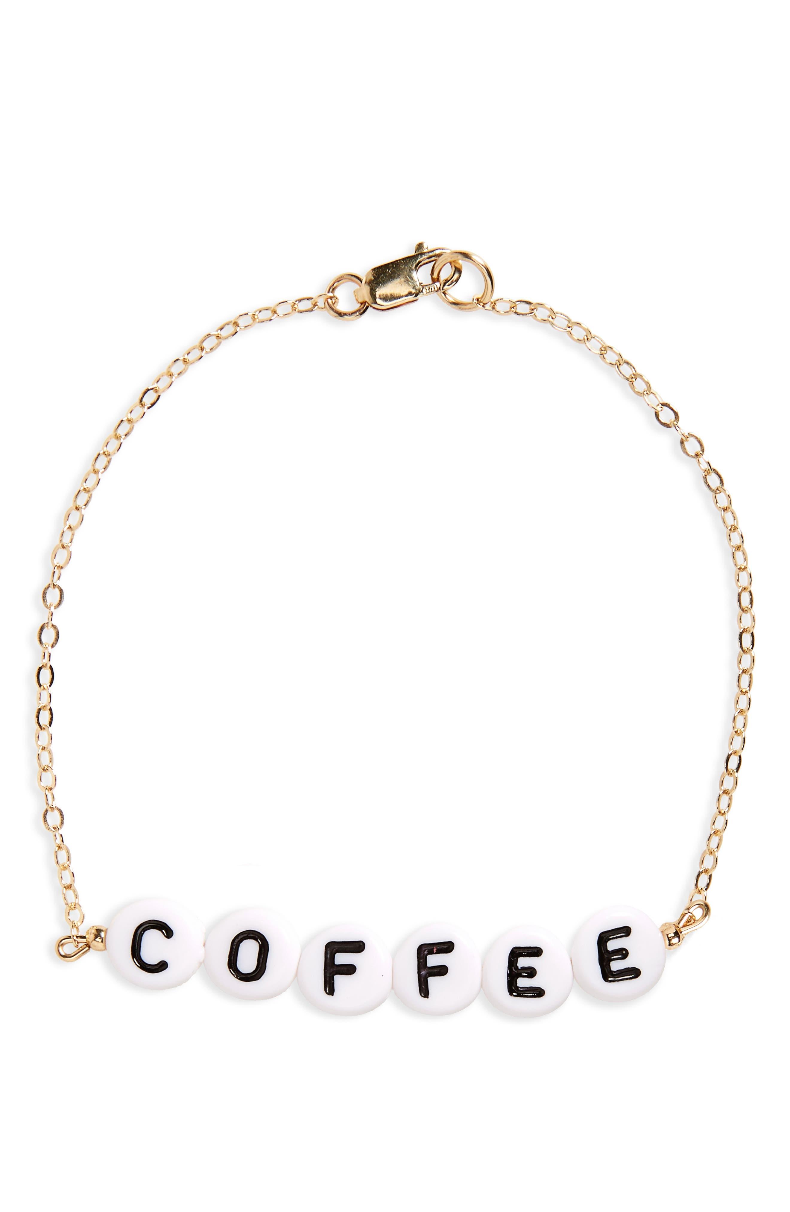 RYAN PORTER Coffee Chain Bracelet