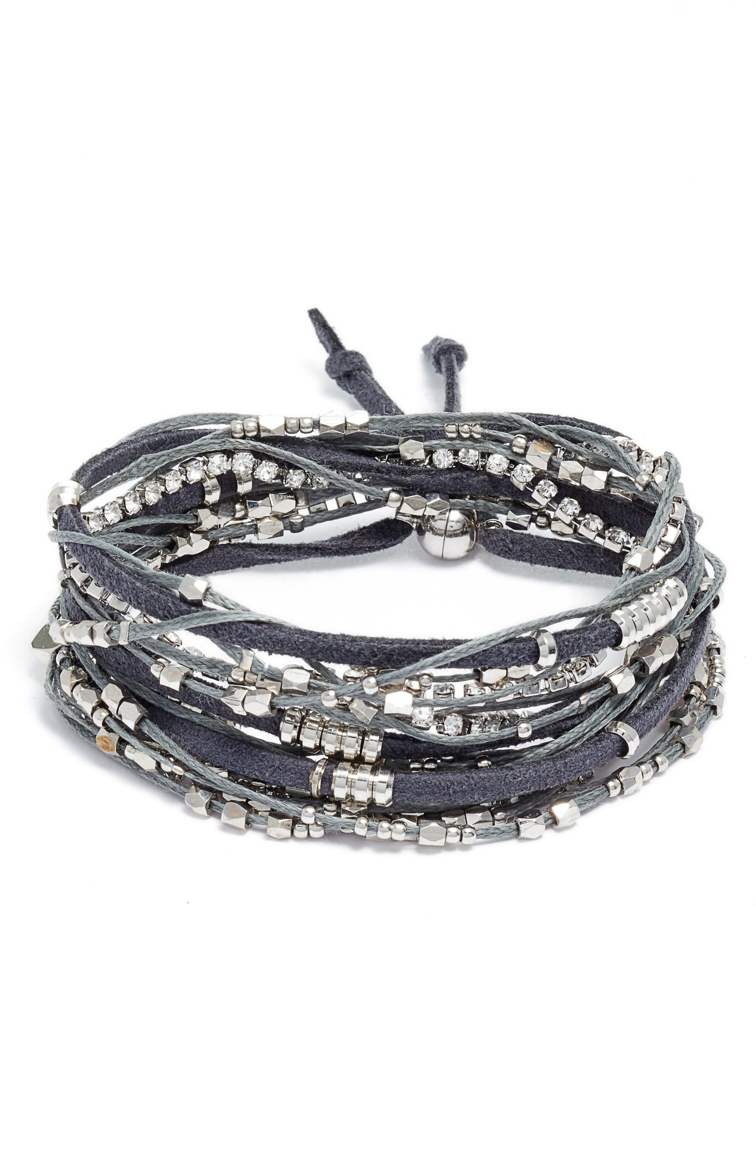 Alternate Image 1 Selected - Serefina Convertible Wrap Bracelet