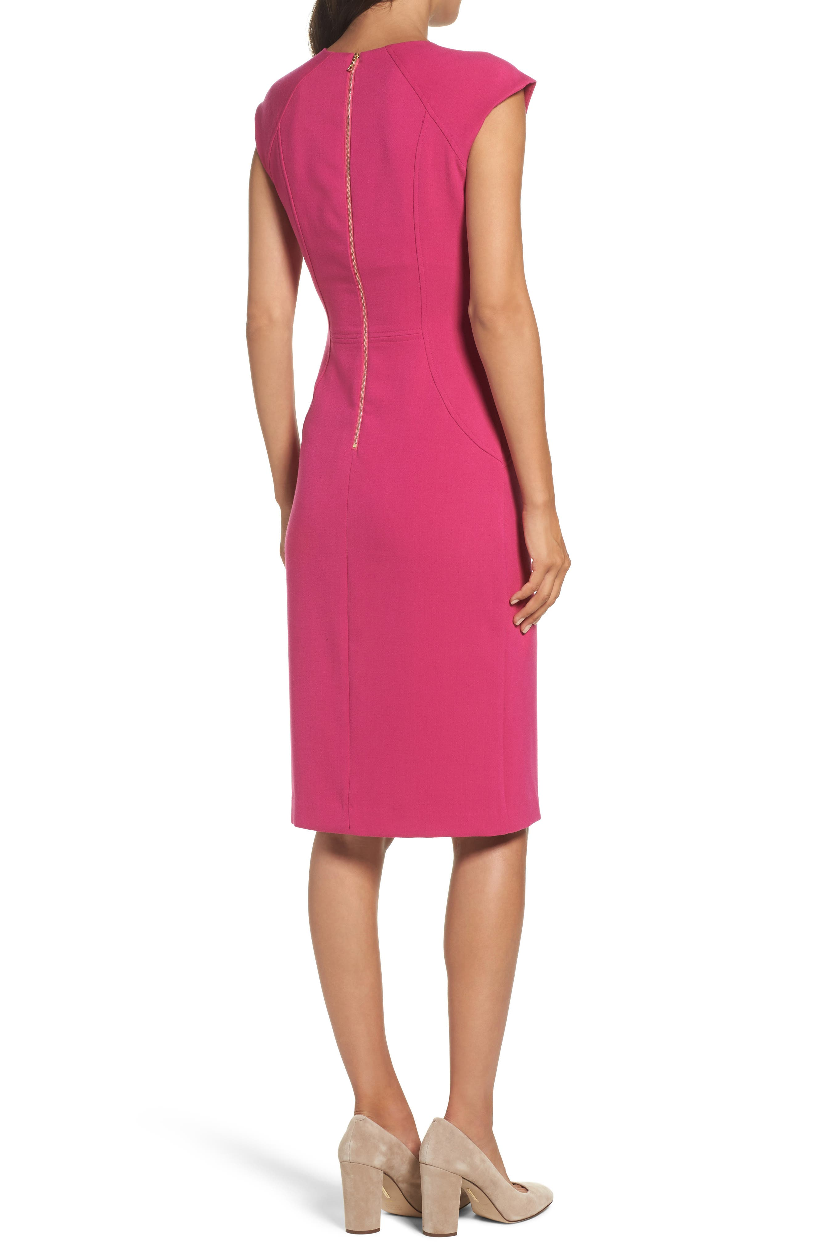 Alternate Image 2  - Vince Camuto Body-Con Dress