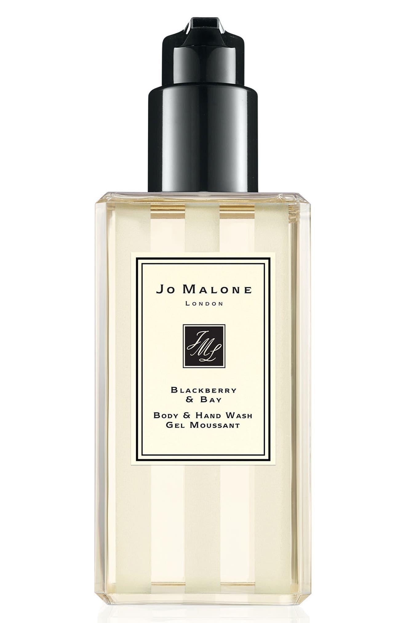 Jo Malone<sup>™</sup> Blackberry & Bay Body & Hand Wash,                         Main,                         color, No Color