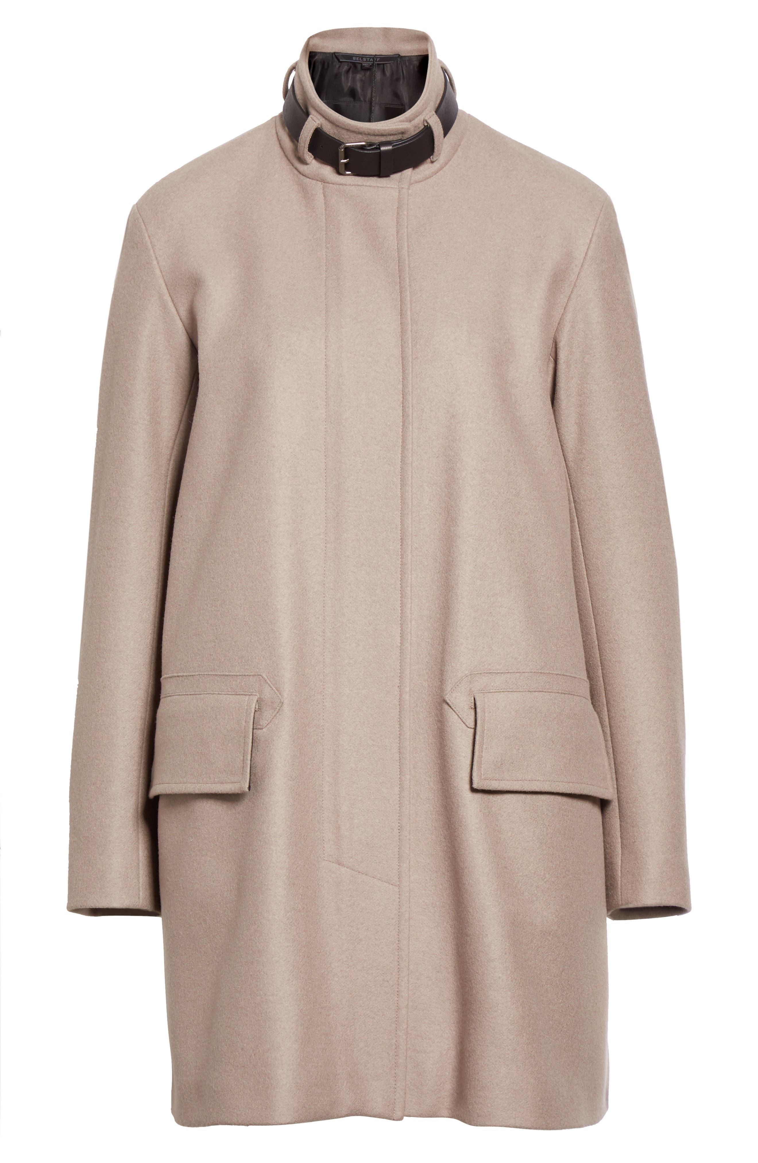 Alternate Image 4  - Belstaff Moryah Wool Blend Coat