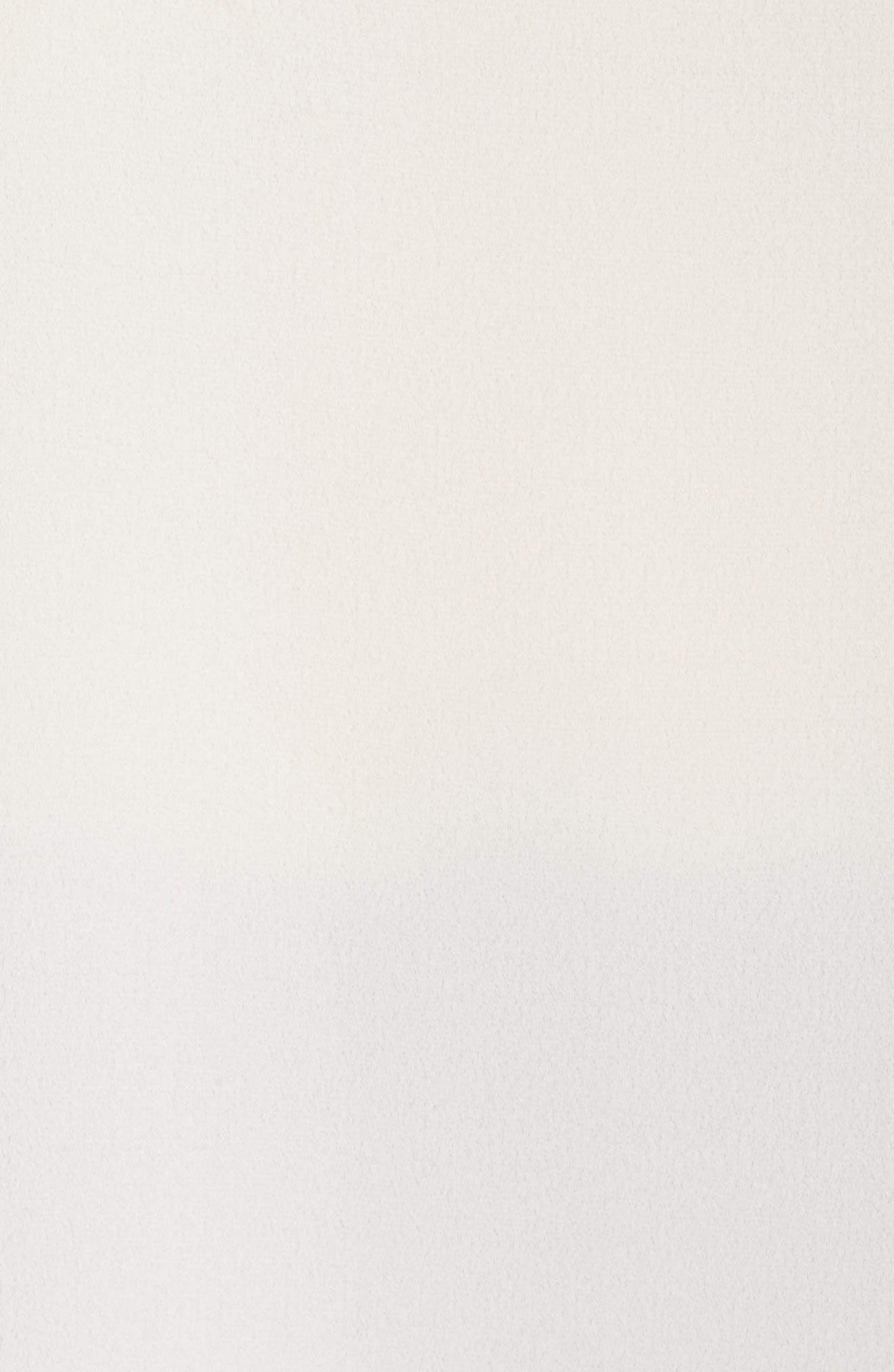 Alternate Image 6  - Sejour Flutter Sleeve Tie Neck Top (Plus Size)