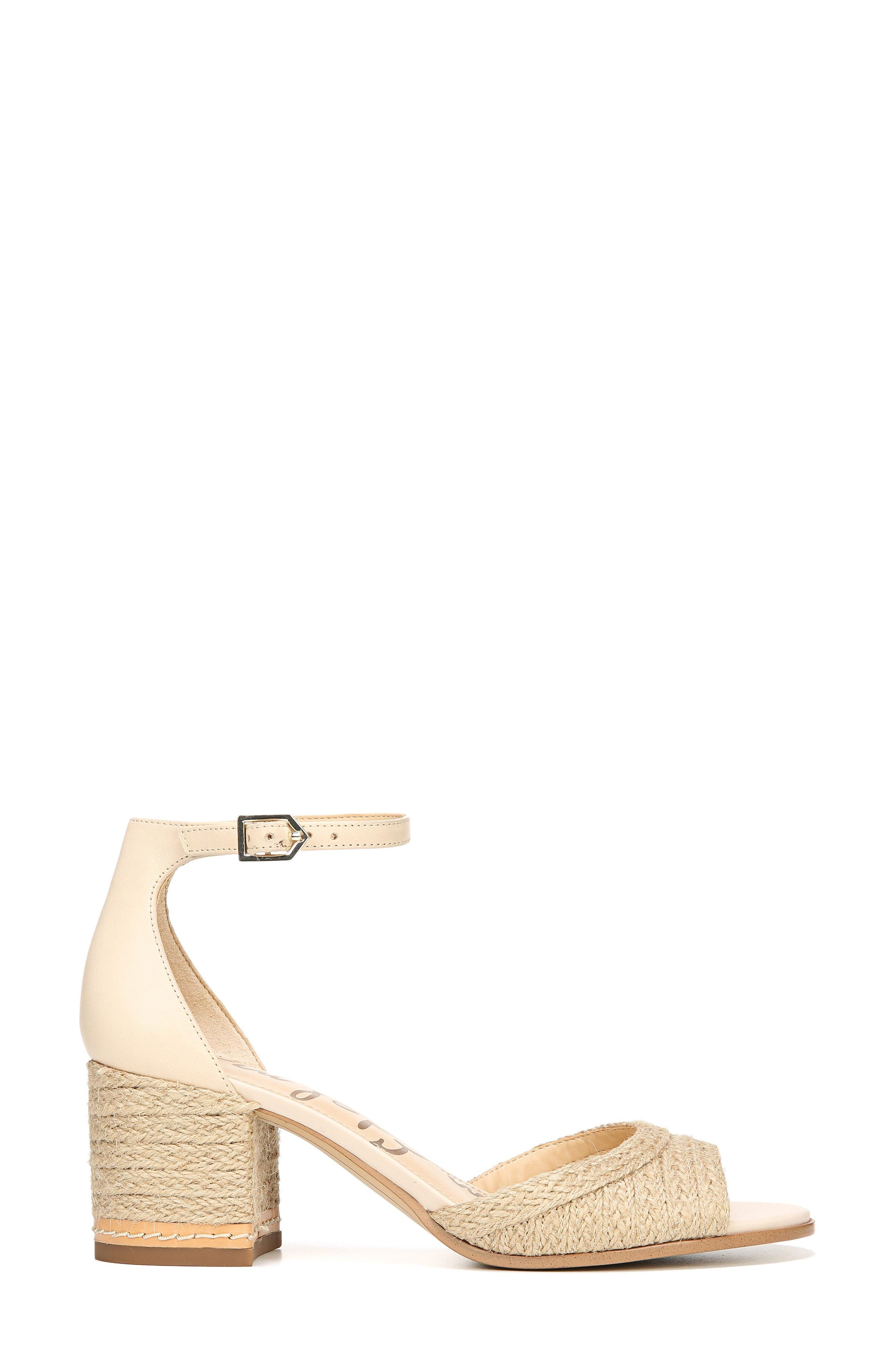 Susie 2 Ankle Strap Sandal,                             Alternate thumbnail 3, color,                             Summer Sand Leather