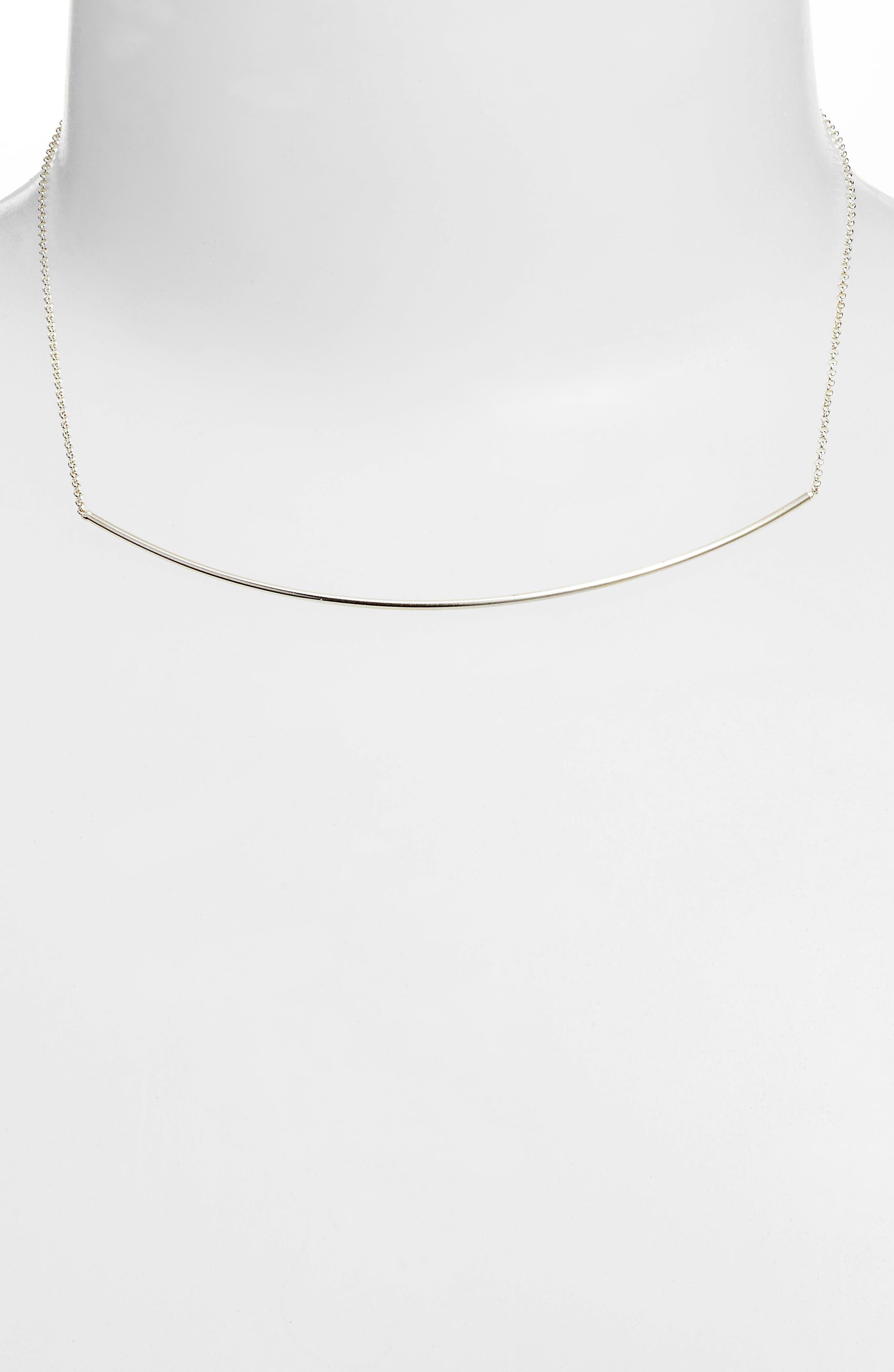 Alternate Image 2  - Dogeared Balance Bar Choker Necklace