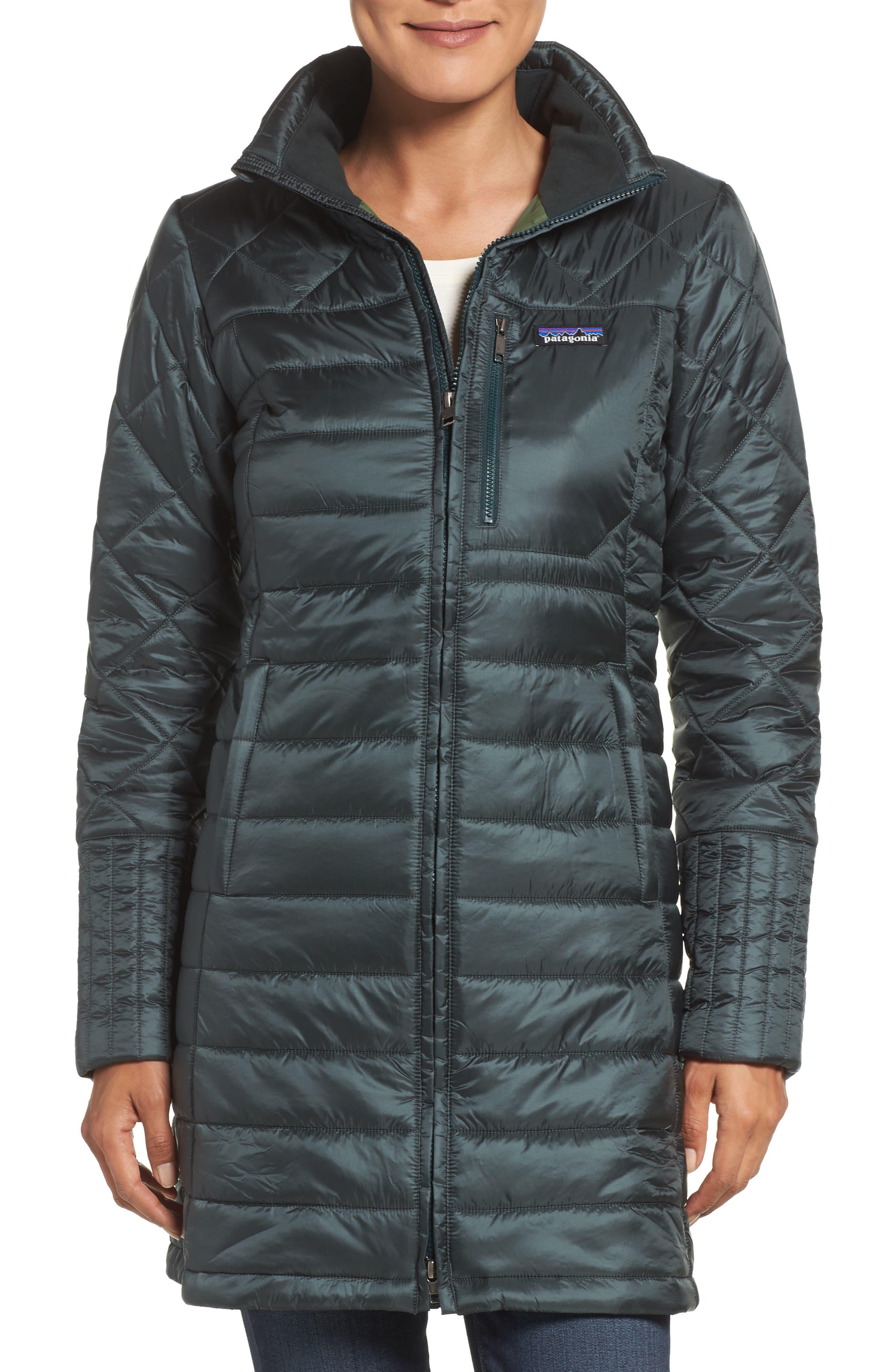 Patagonia Down Long Coat Han Coats