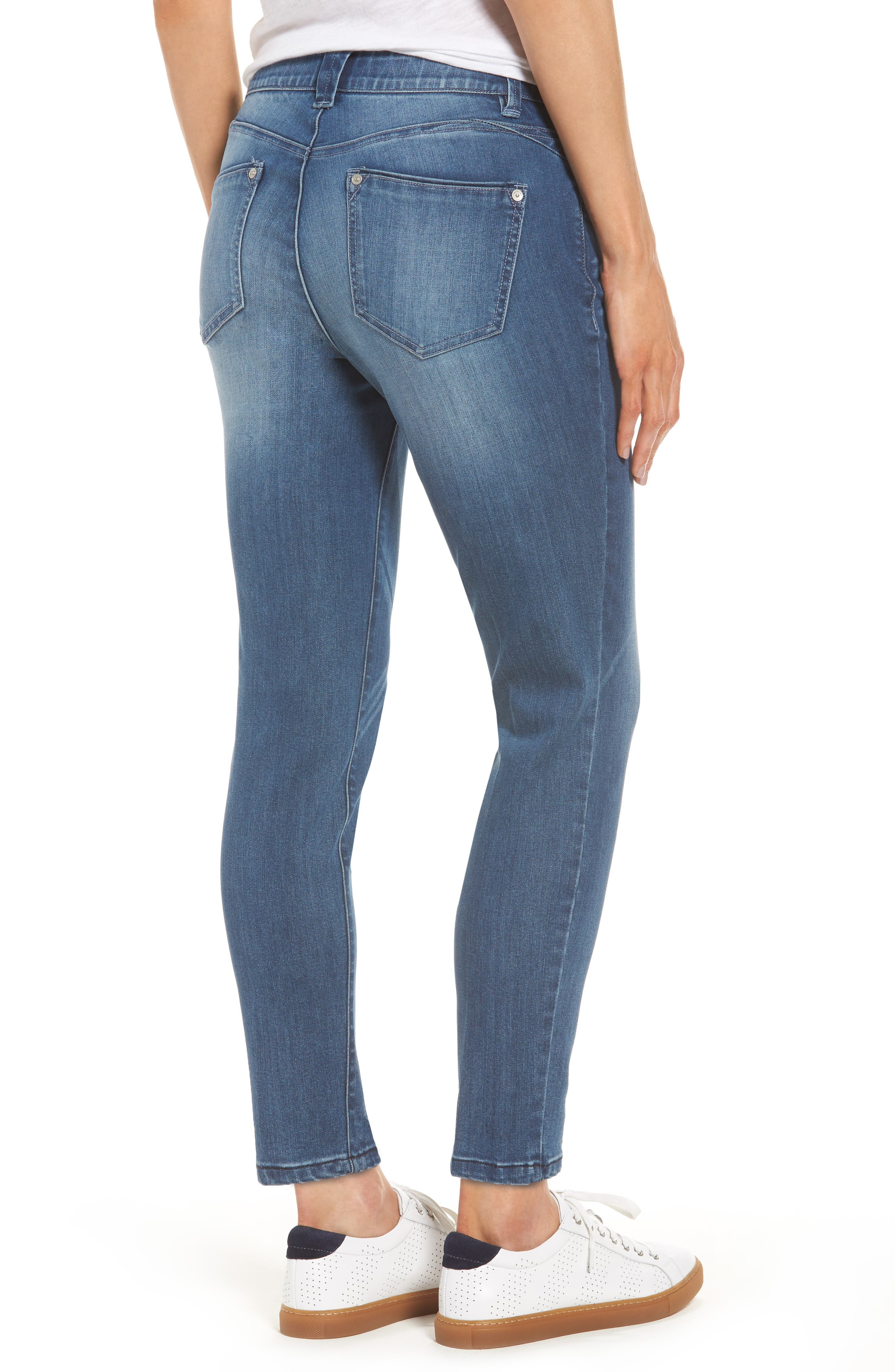 Alternate Image 2  - Wit & Wisdom Ab-solution Stretch Ankle Skinny Jeans (Regular & Petite) (Nordstrom Exclusive)