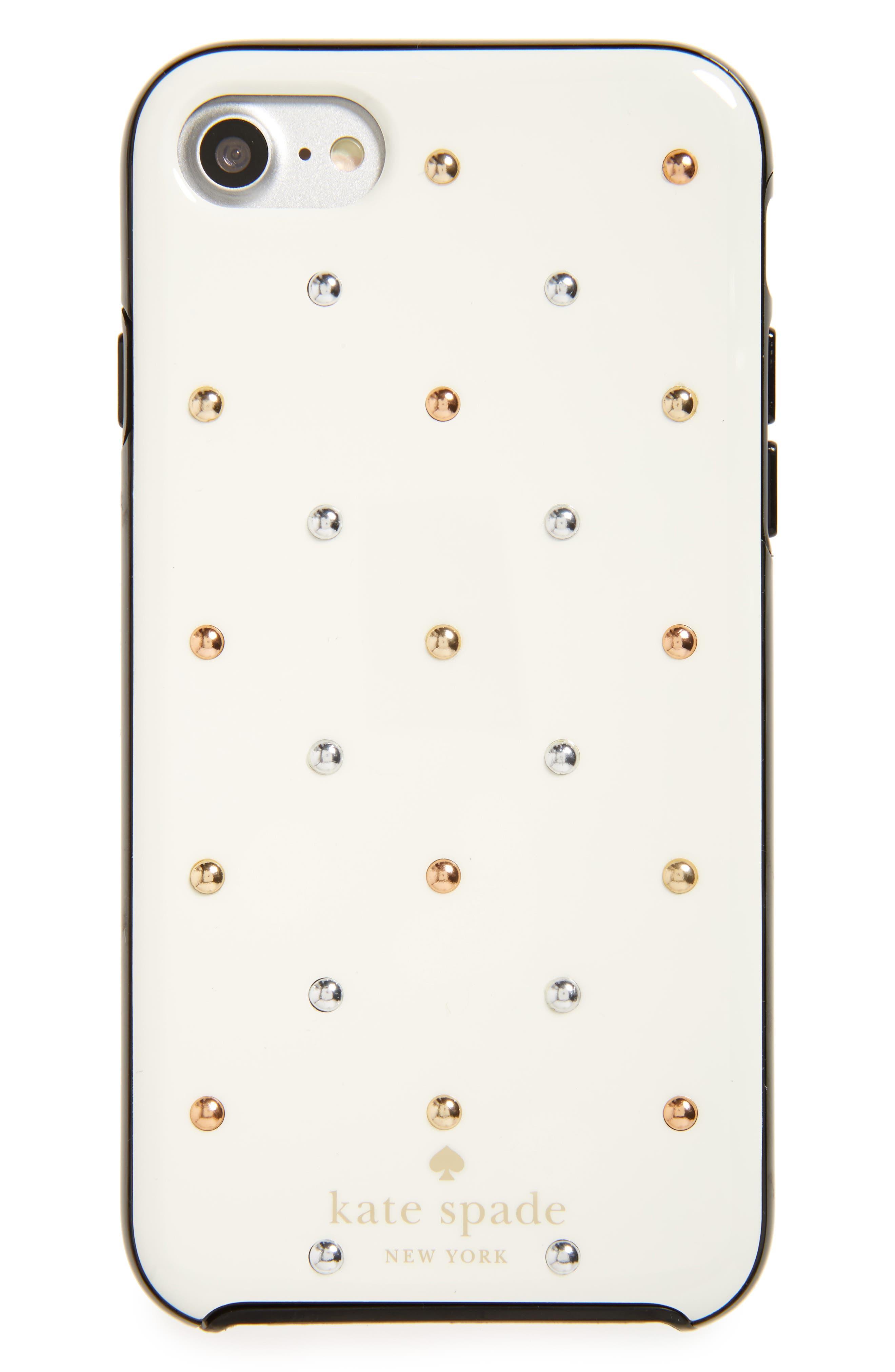 Main Image - kate spade new york larabee dot iPhone 7 & 7 Plus case