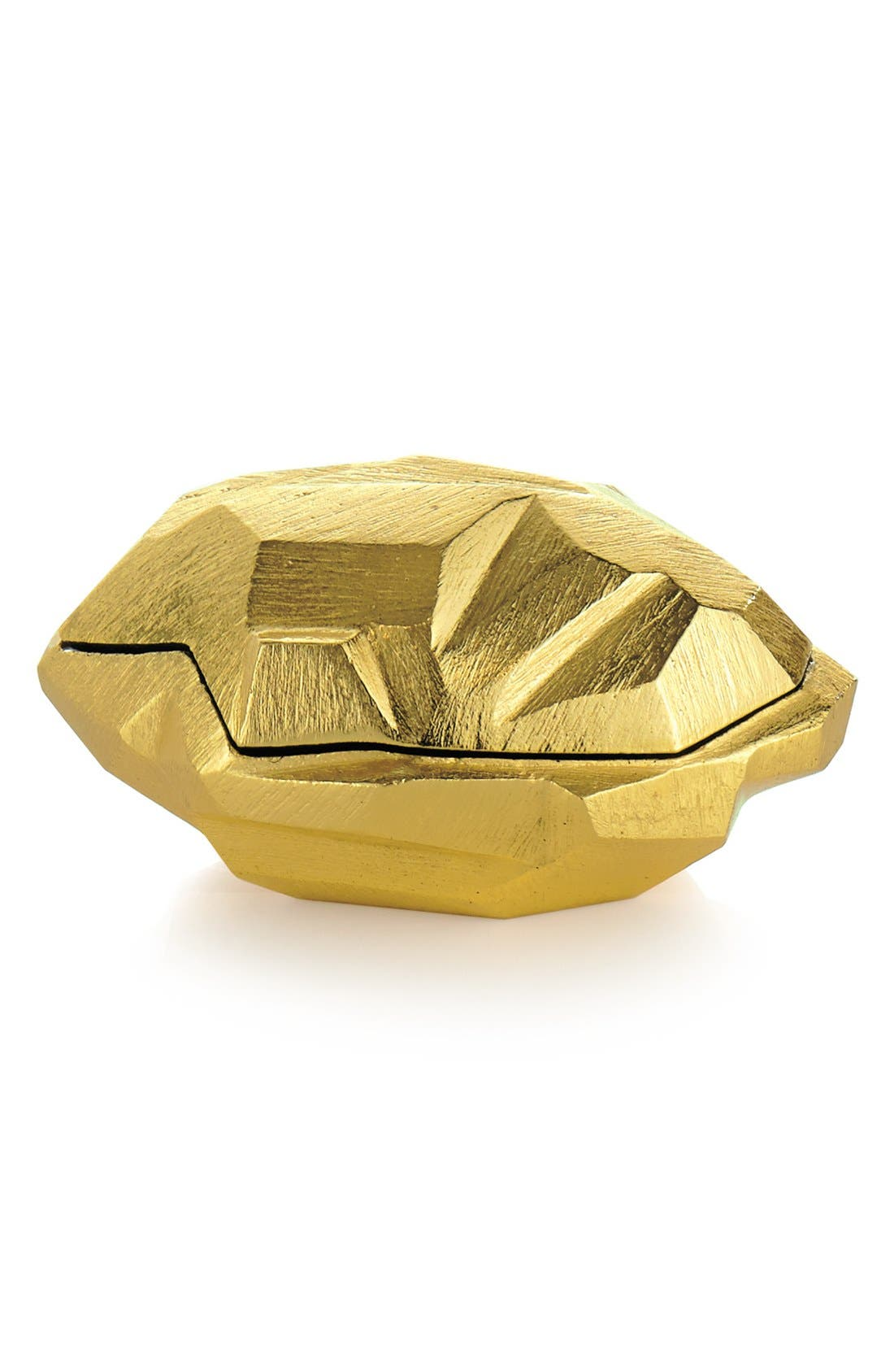 'Rock' Box,                         Main,                         color, Gold
