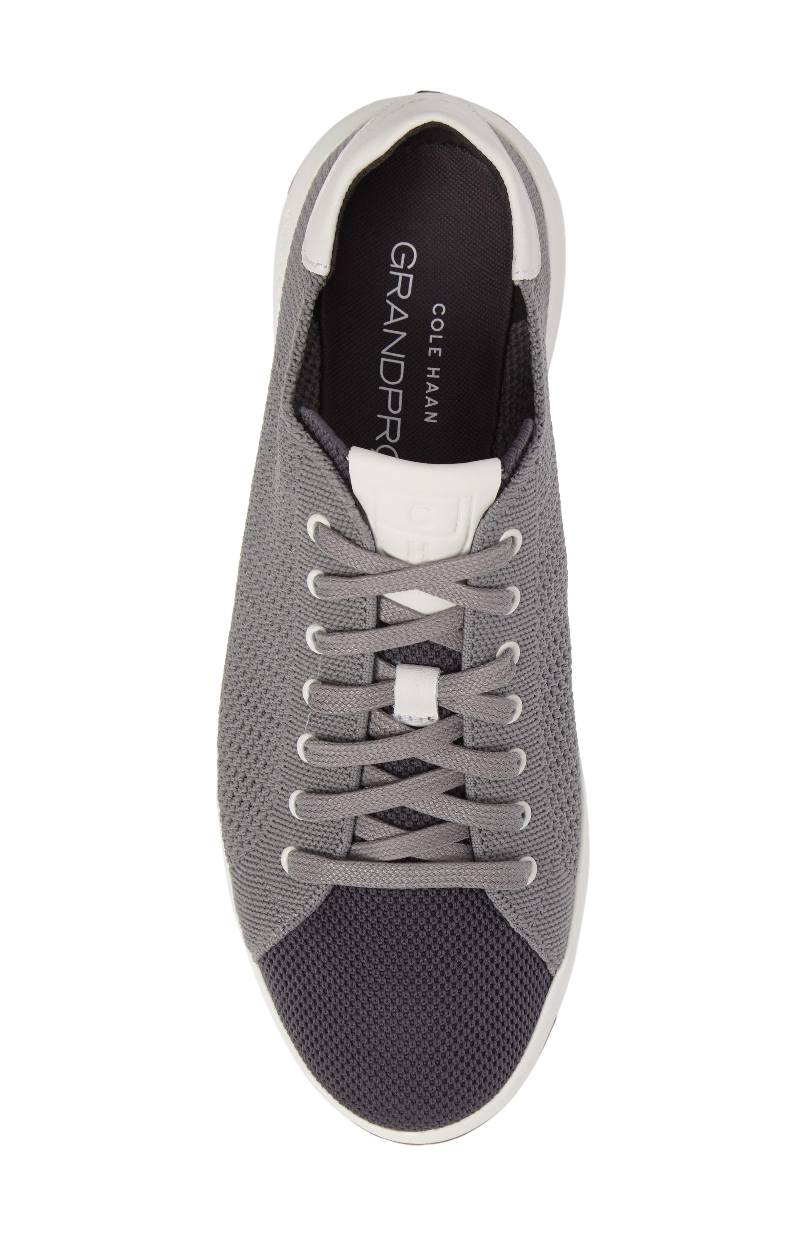 GrandPrø Stitchlite Tennis Sneaker,                             Alternate thumbnail 5, color,                             Magnet Grey Fabric