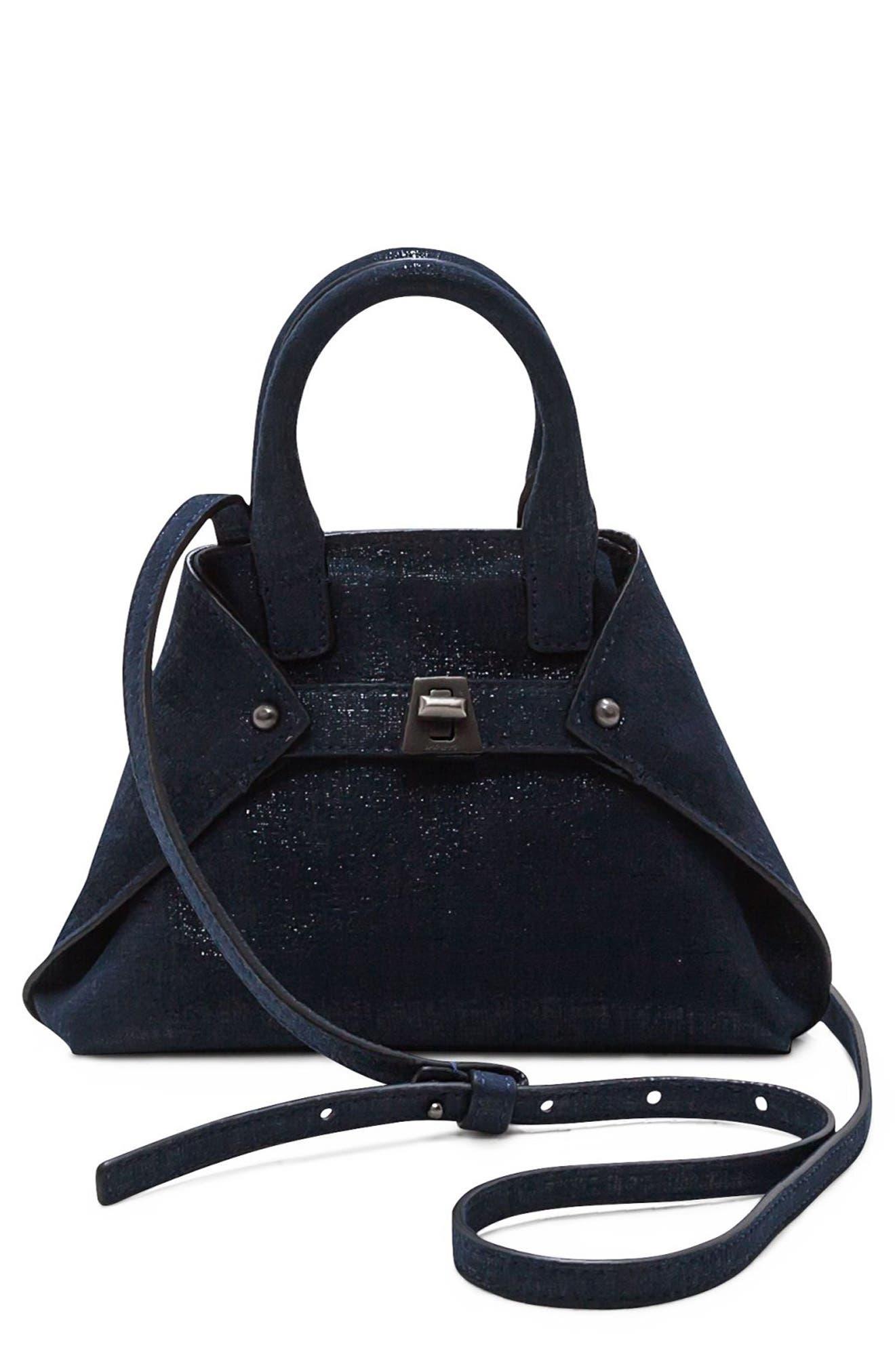 Alternate Image 1 Selected - Akris Tasche Micro Leather Crossbody Bag