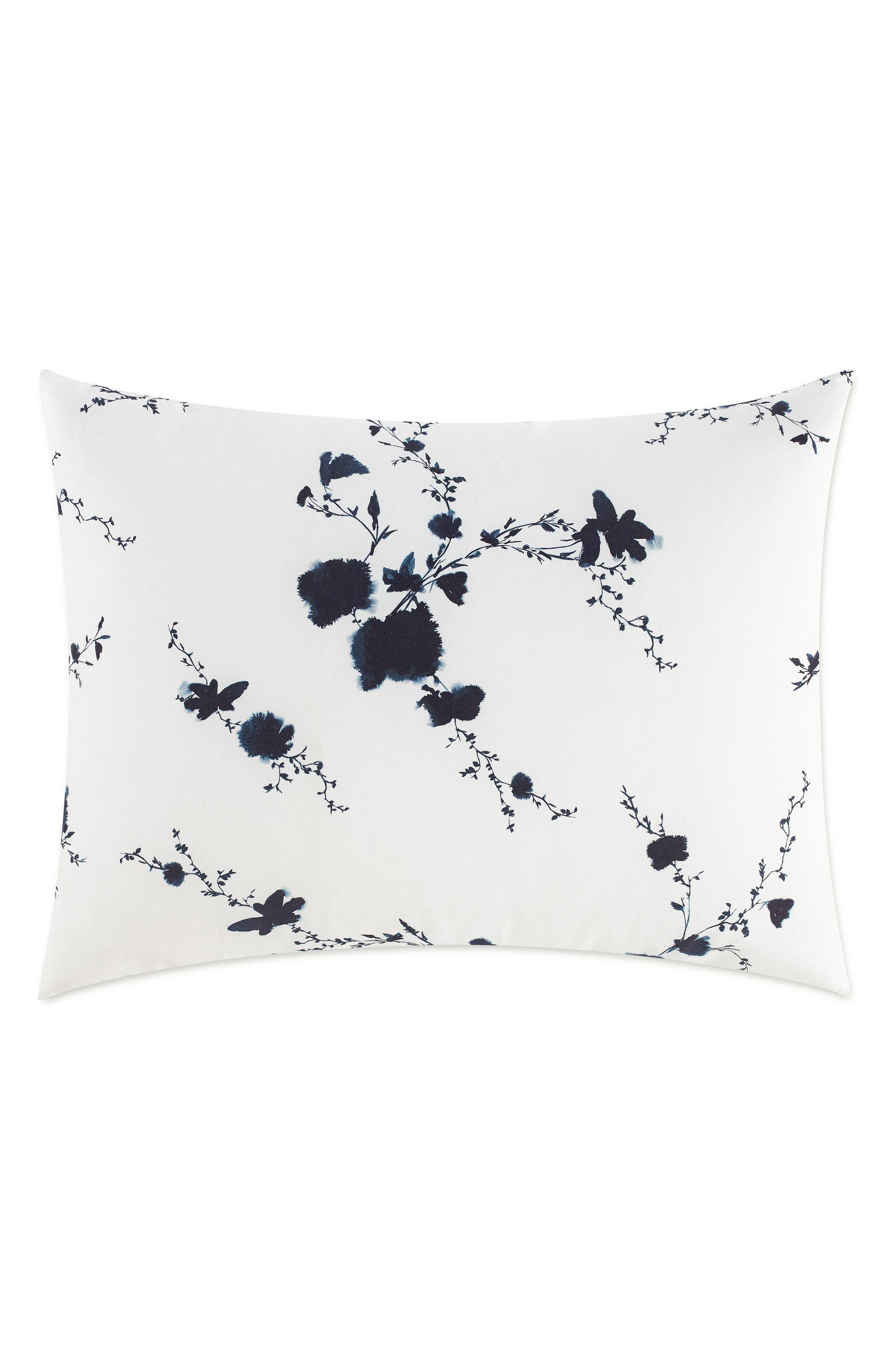 Main Image - Vera Wang Ink Wash Floral Euro Sham