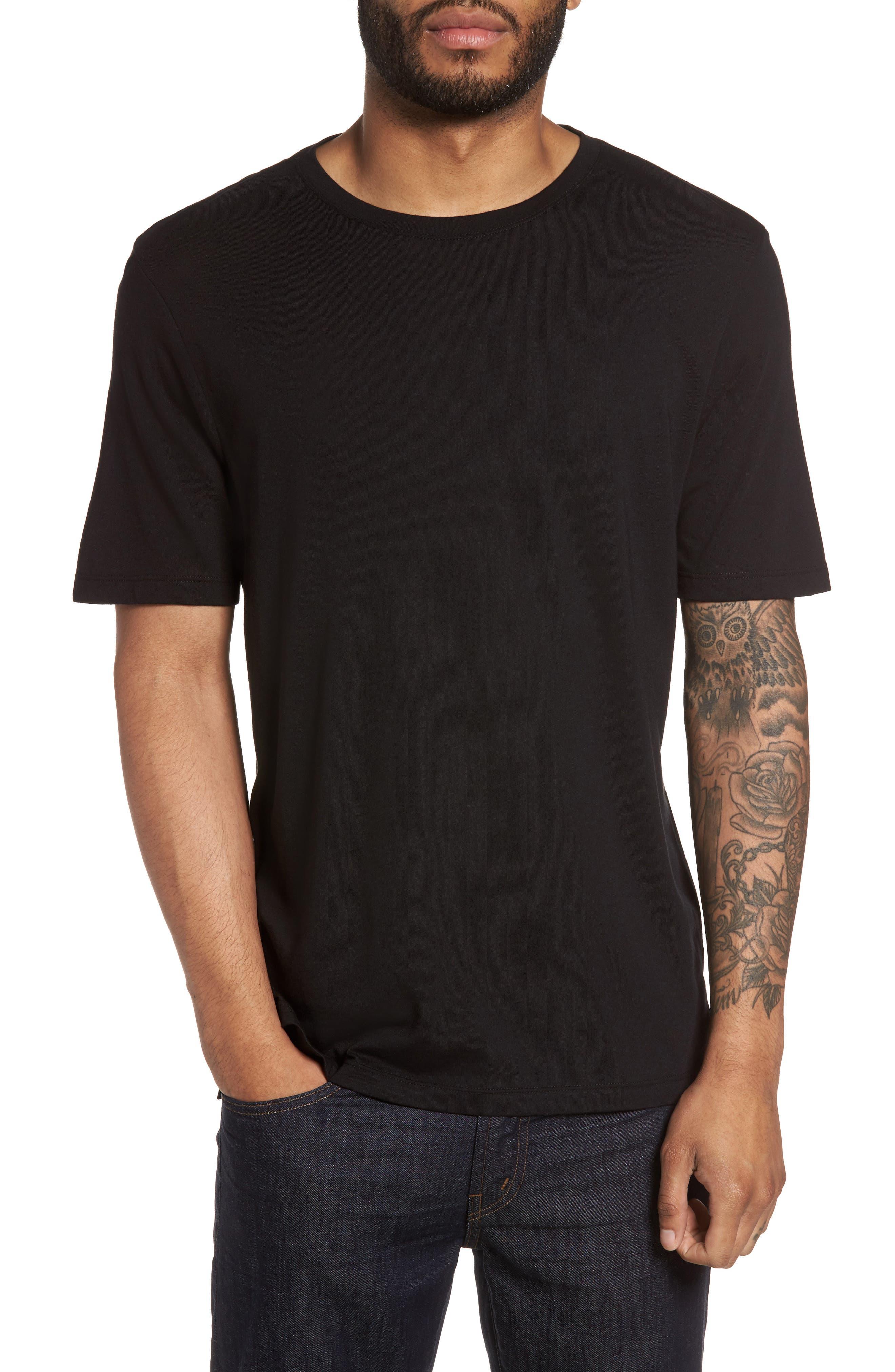Vince Clean Jersey Crewneck T-Shirt
