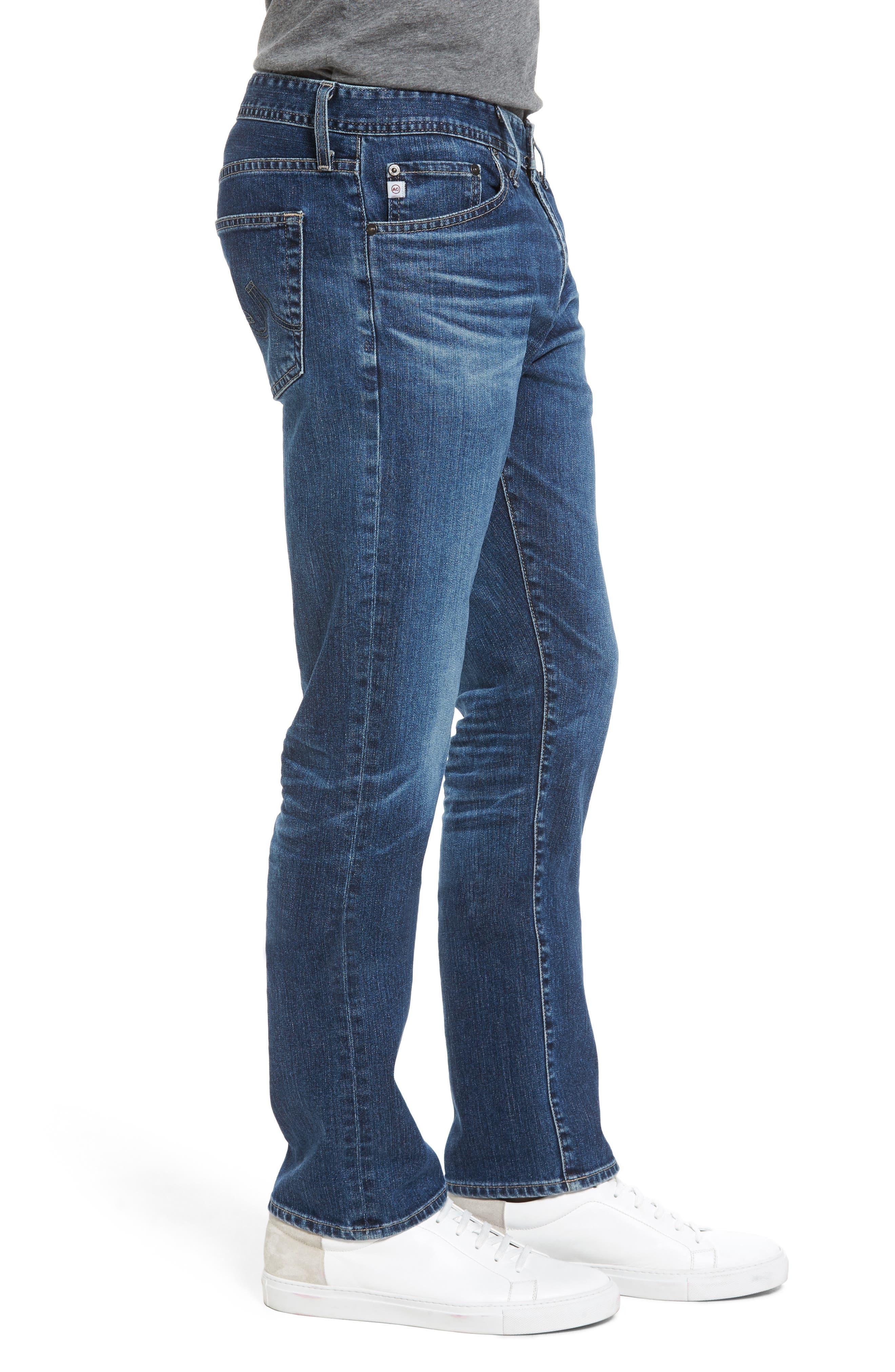 Alternate Image 3  - AG Everett Slim Straight Leg Jeans (13 Years Stasis)