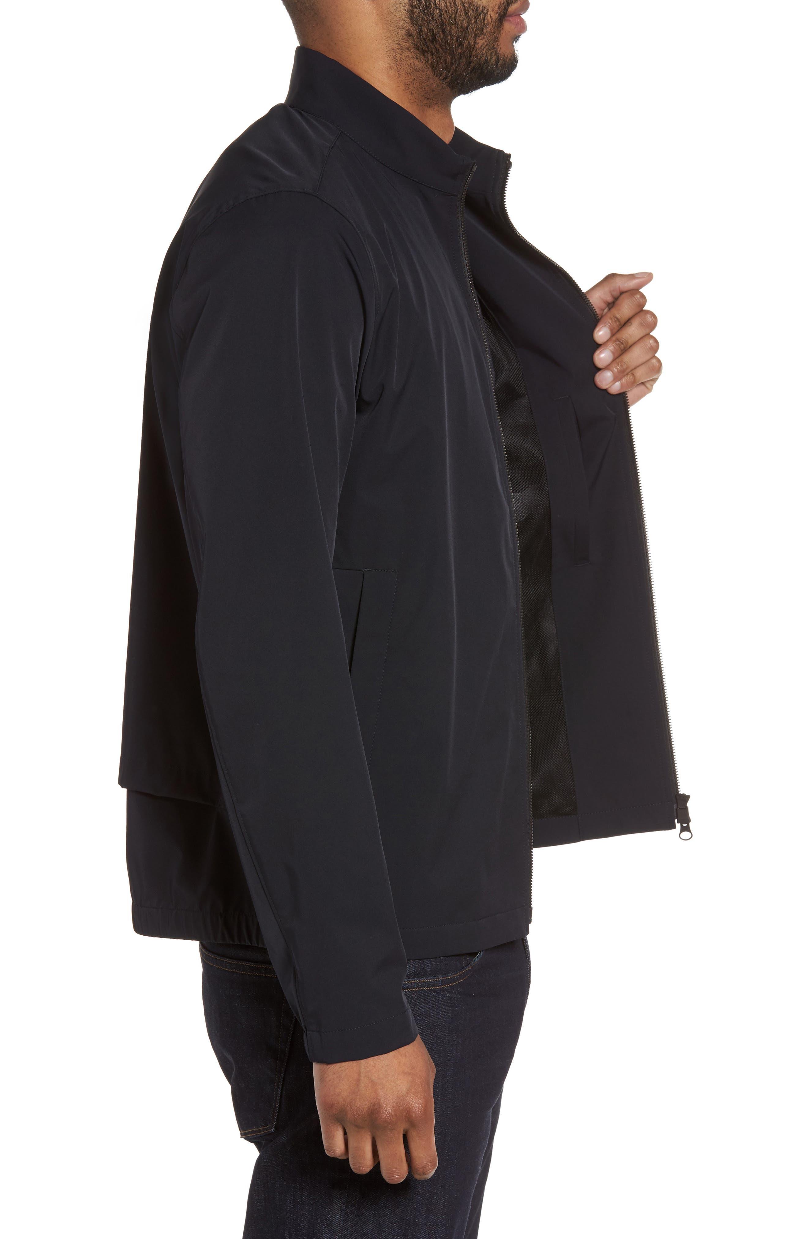 Scotty Bevan Zip Front Jacket,                             Alternate thumbnail 3, color,                             Eclipse